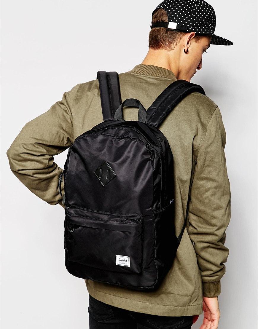 3206829d8e Lyst - Herschel Supply Co. Herschel Heritage Backpack in Black for Men