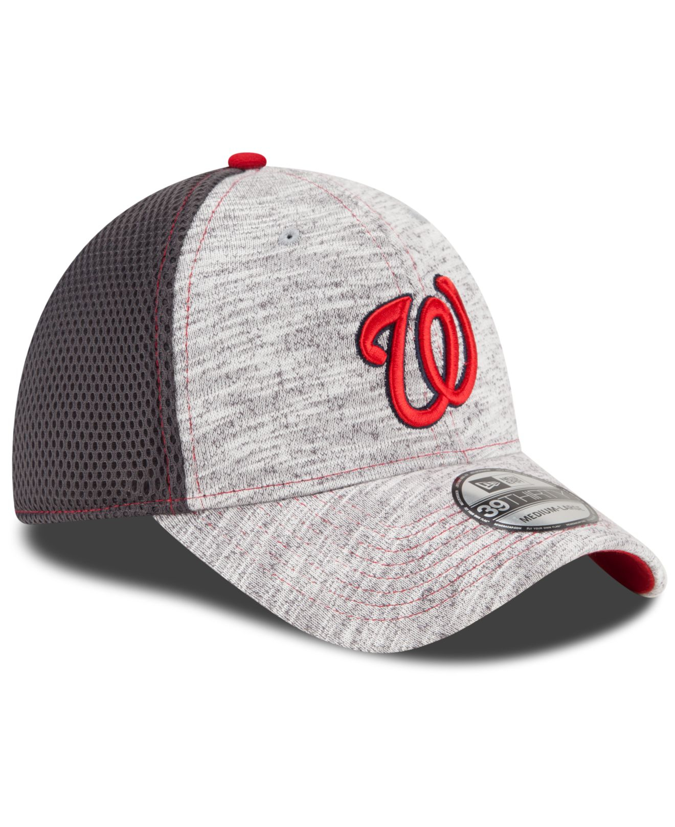 hot sale online e15d4 a7fe4 ... of mlb new era caps fa285 f2822  usa lyst ktz washington nationals  clubhouse 39thirty cap in gray for men 2aea9 bad52