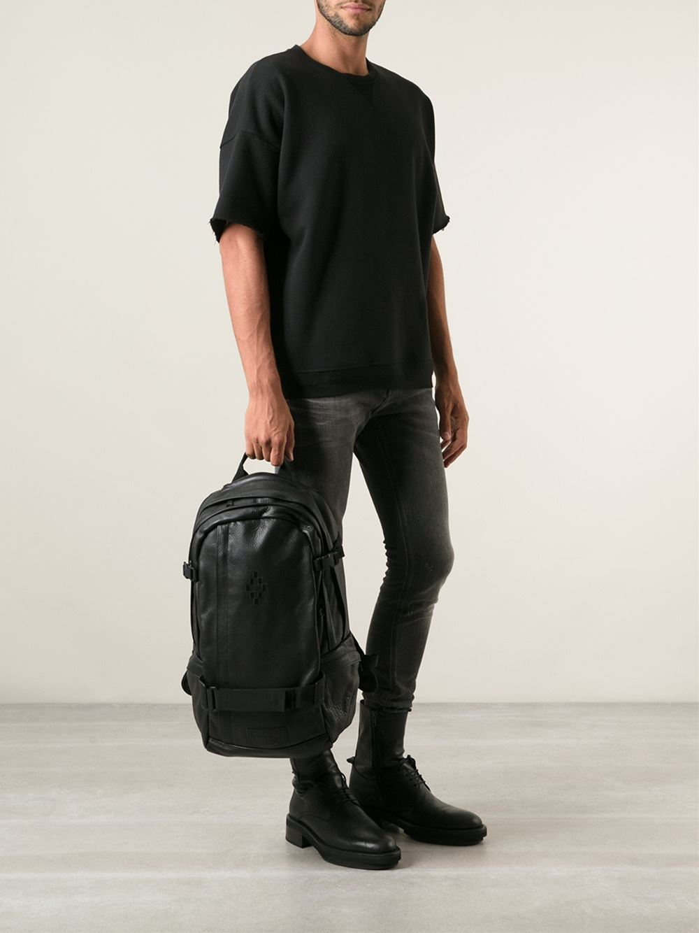 Marcelo burlon 'Marcelo Burlon For Eastpak' Backpack in Black for ...