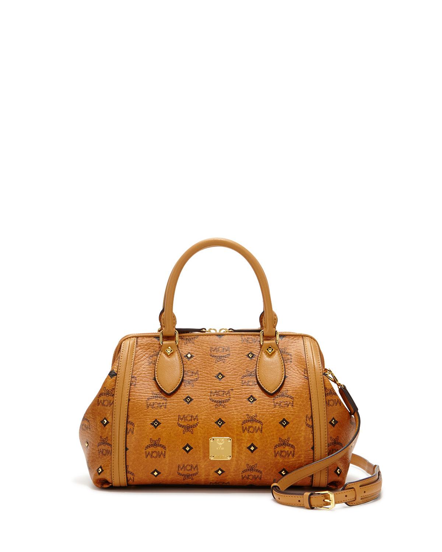 mcm padlock cross bag in brown lyst