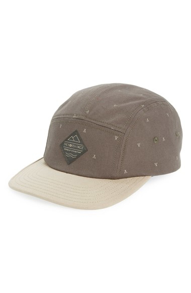 71ef58a545b5b The North Face Five Panel Cap in Green for Men - Lyst