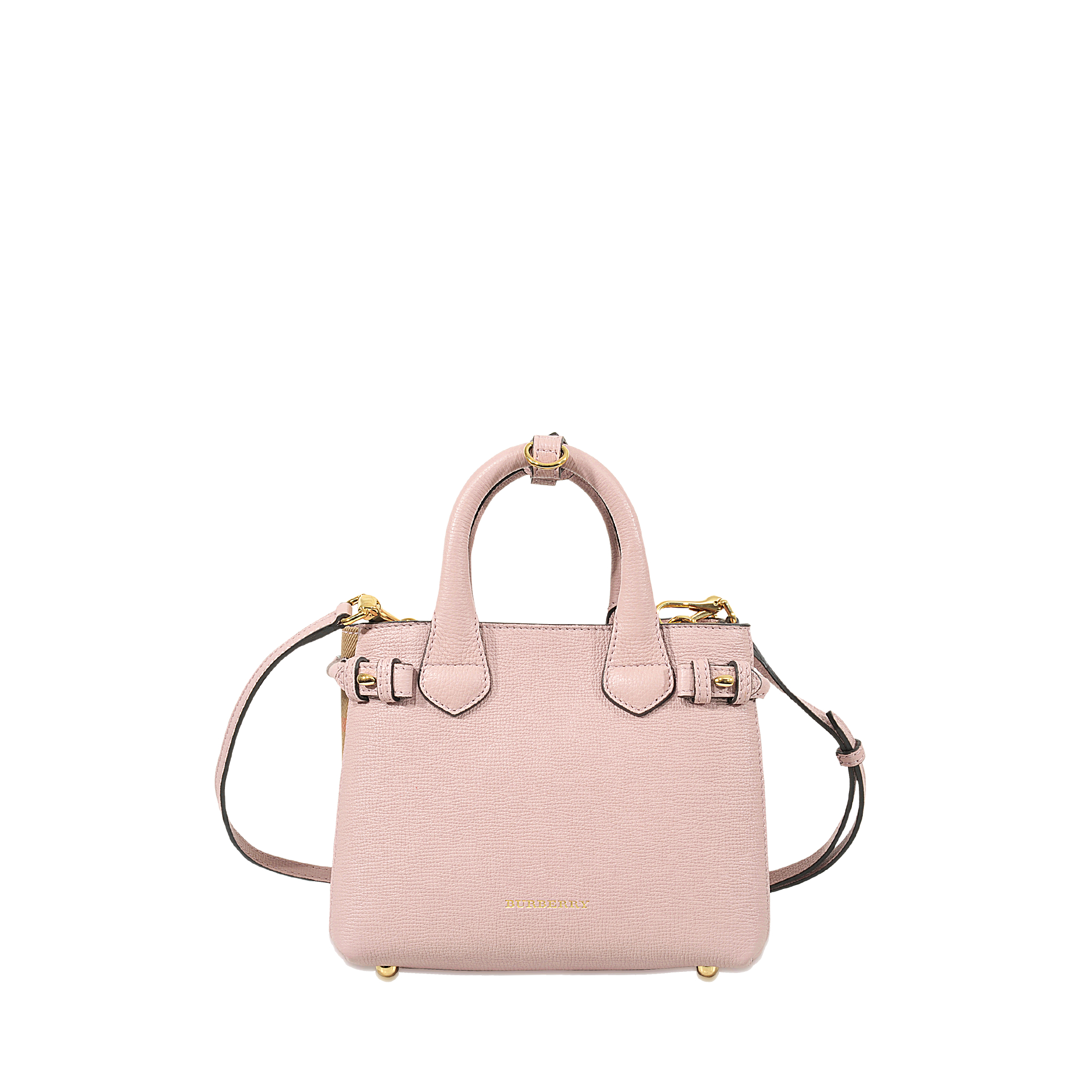 72a6e4b0776b Lyst - Burberry Baby Banner Bag in Pink