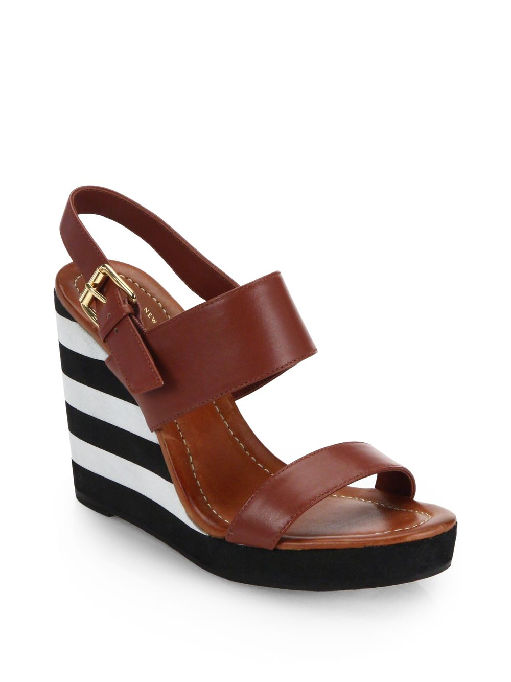 Kate Spade New York Striped Slingback Sandals free shipping find great ZDl6PJcAT
