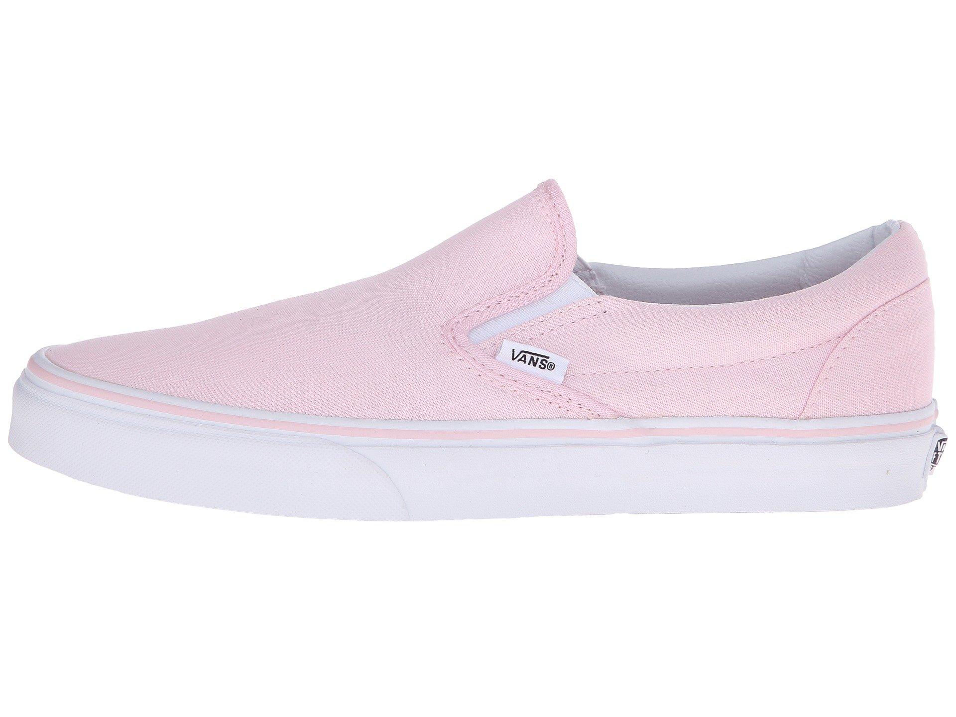 pink vans slip on shoes