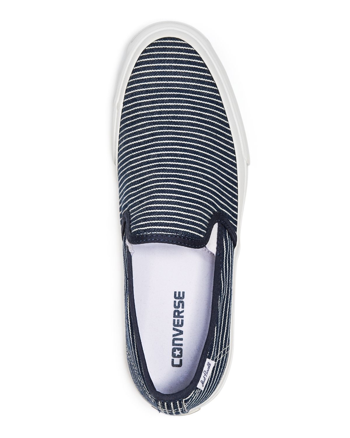 1834e157a69a Lyst - Converse Jack Purcell Ii Striped Slip On Sneakers in Blue for Men