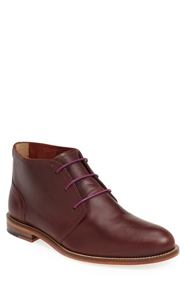 j shoes monarch chukka boot in purple for lyst