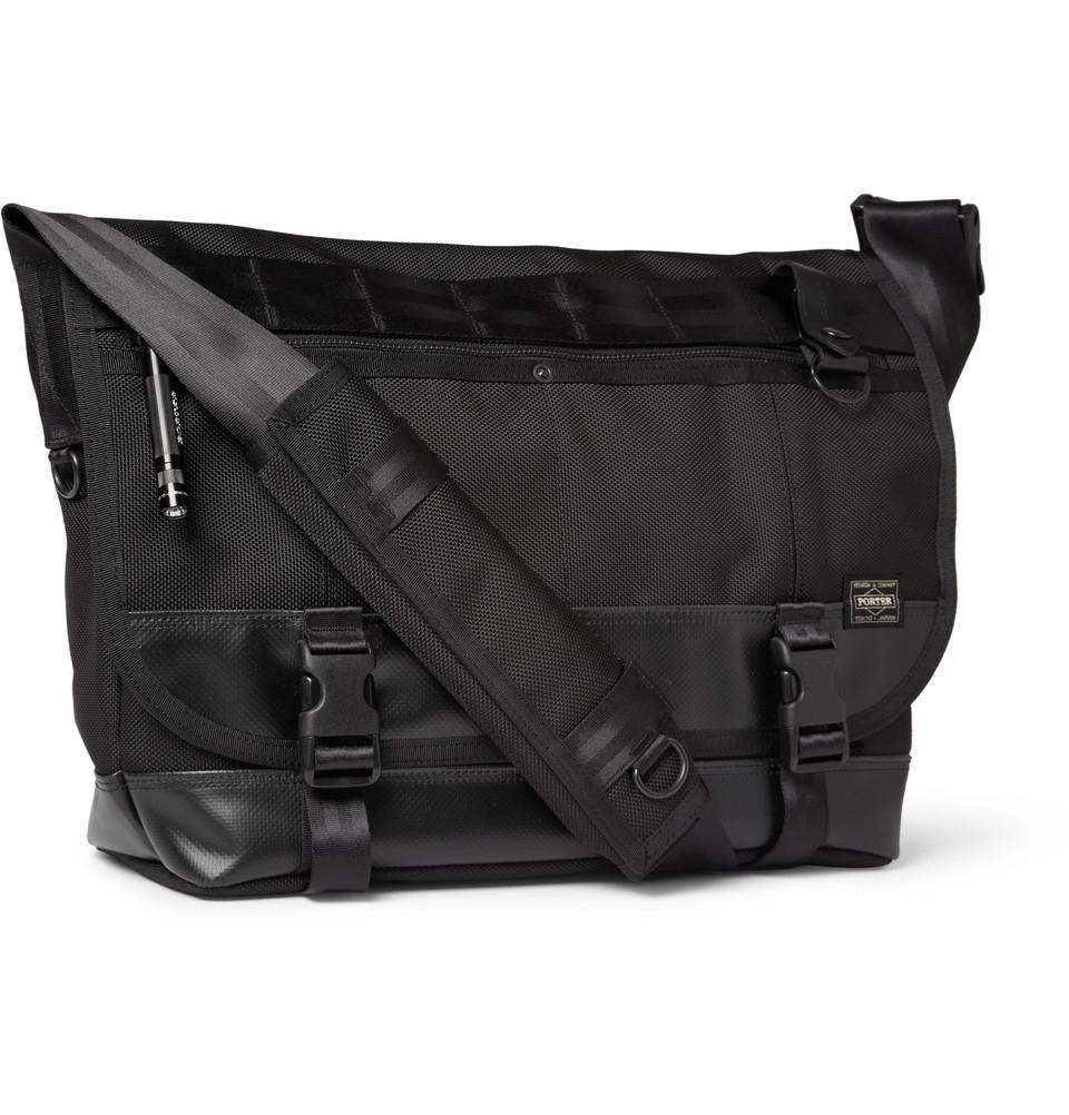 4232a67e61 Lyst - Porter Heat Canvas Messenger Bag in Black for Men