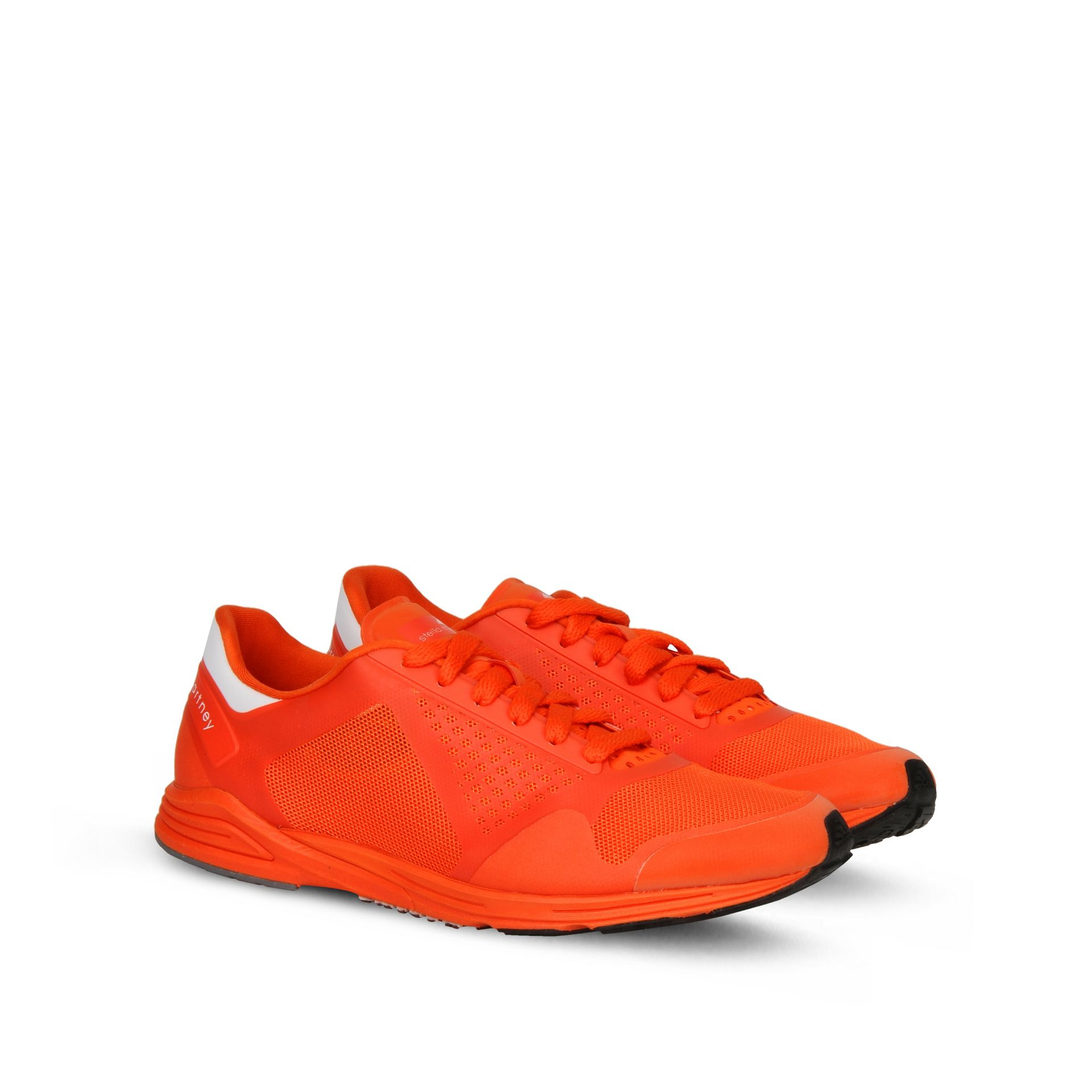 reputable site 34fec 06a16 Lyst - adidas By Stella McCartney Orange Adizero Racing Running ...