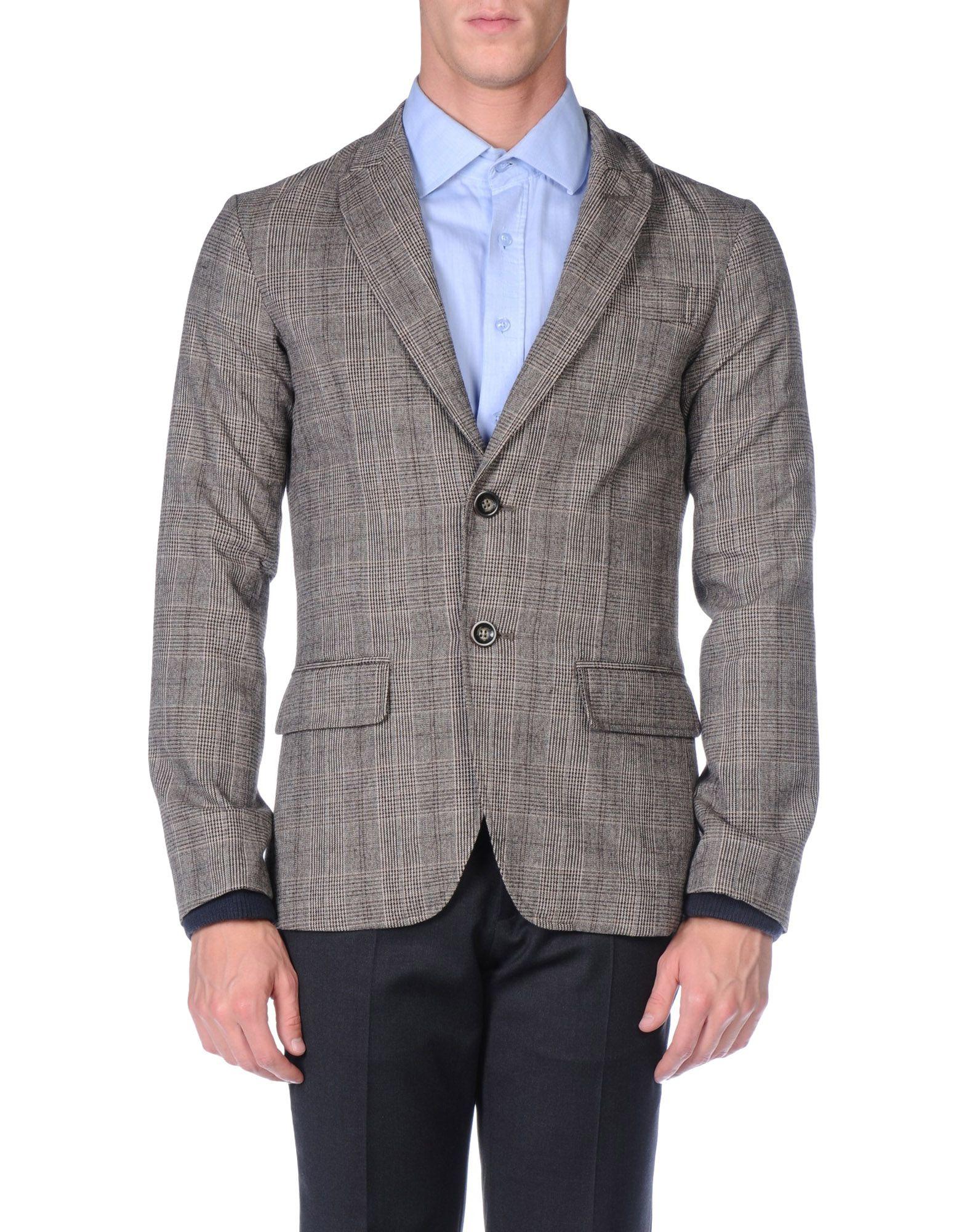 Armani jeans Blazer in Gray for Men | Lyst