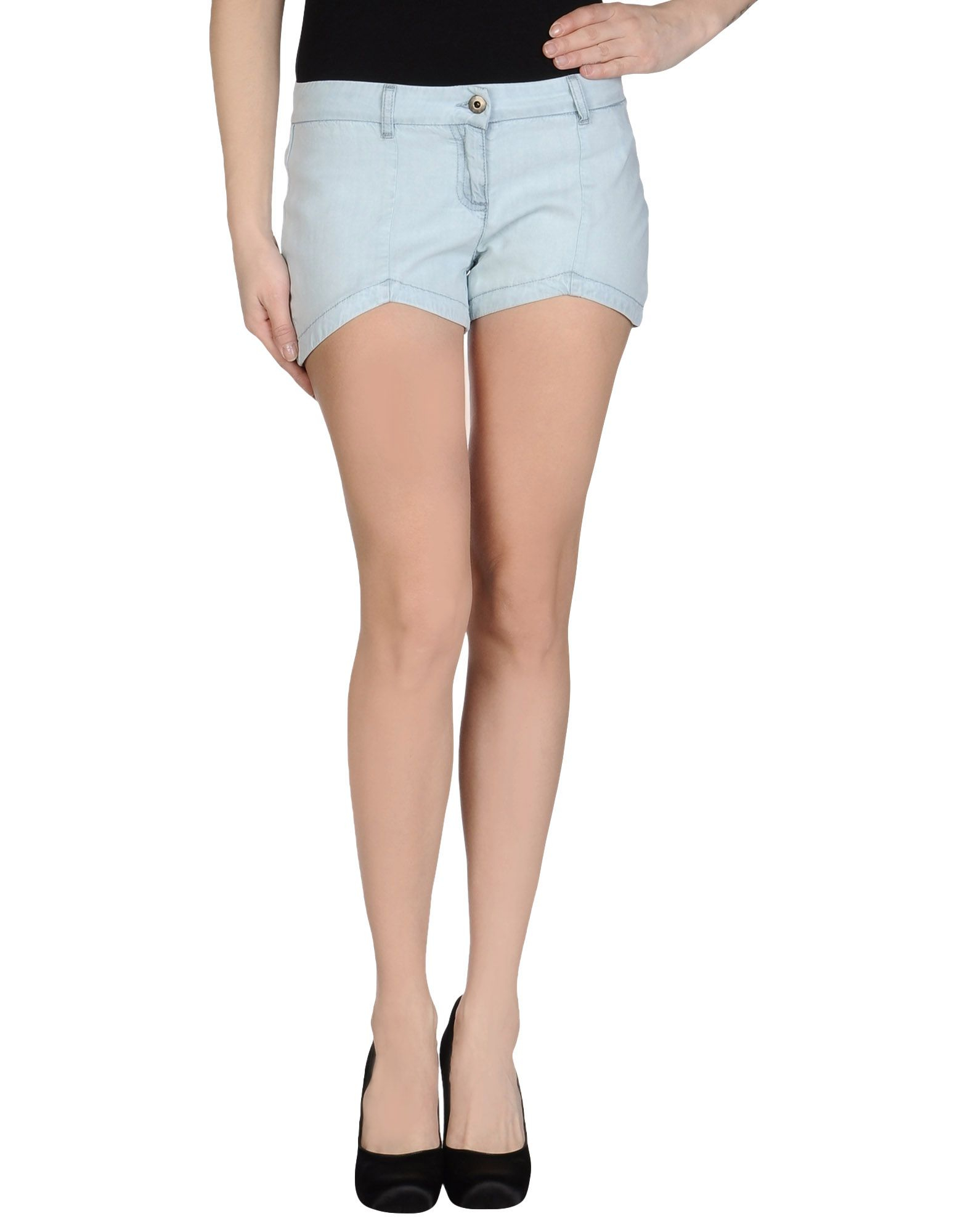 pepe jeans shorts in blue sky blue lyst. Black Bedroom Furniture Sets. Home Design Ideas