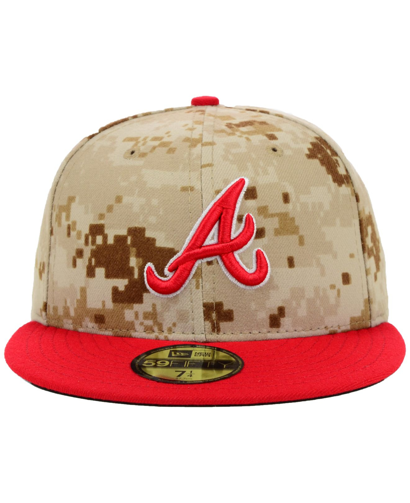 98148be2fbd ... usa lyst ktz atlanta braves mlb 2014 memorial day stars and stripes  59fifty cap in green