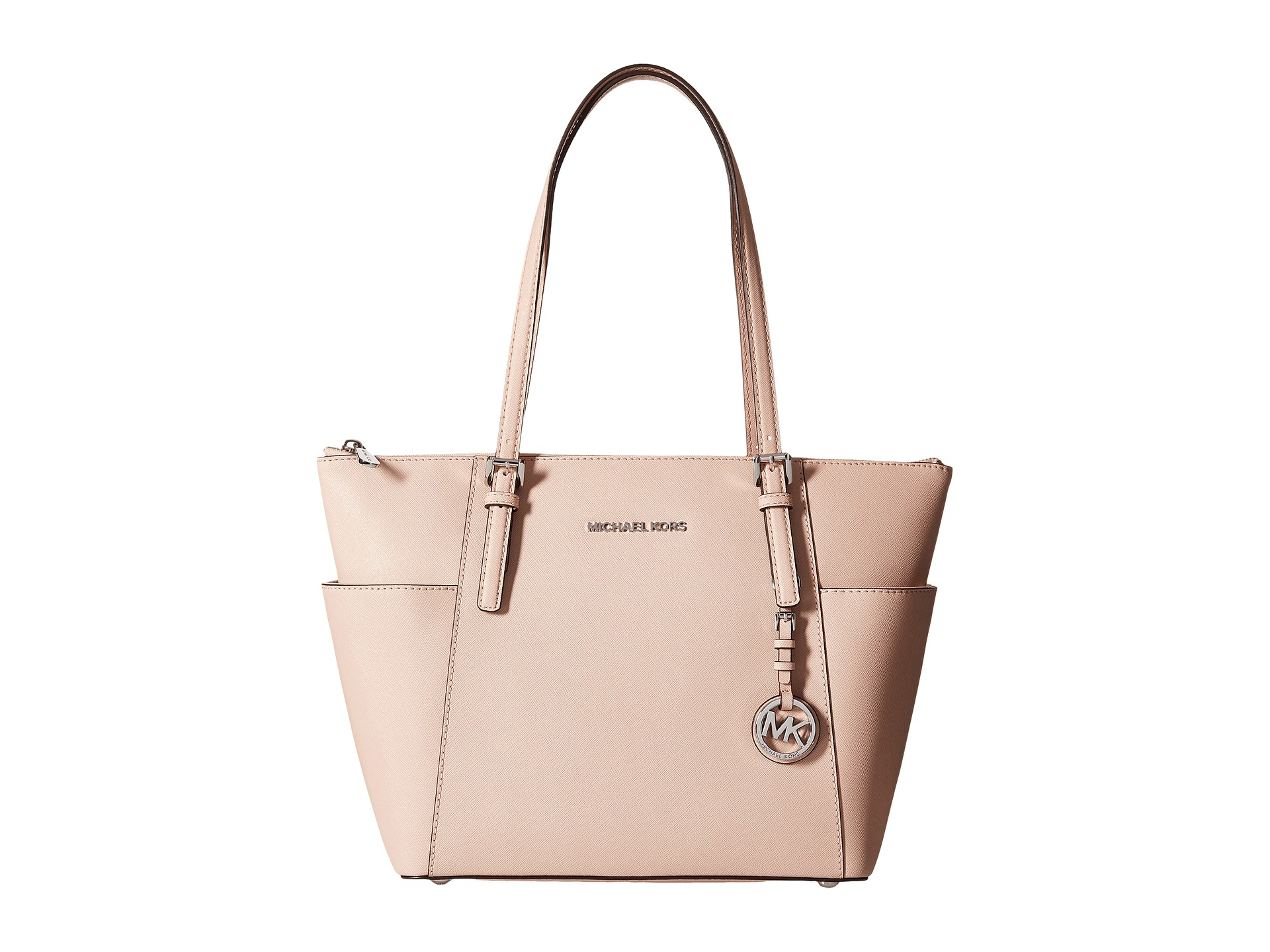 41f9d765f236 MICHAEL Michael Kors Jet Set Item East/west Top Zip Tote in Pink - Lyst