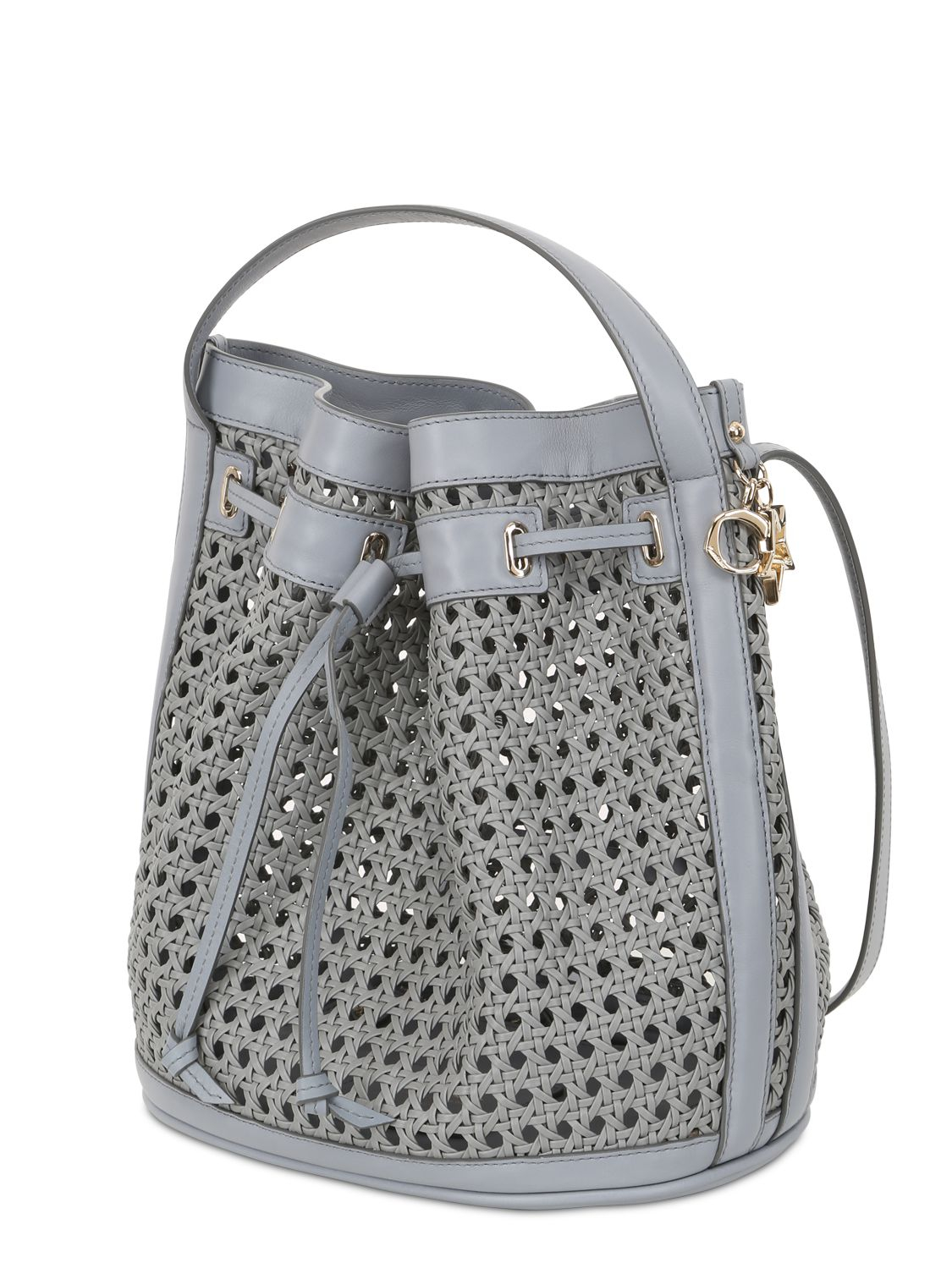 Lyst Corto Moltedo Bentota Woven Faux Leather Bucket Bag