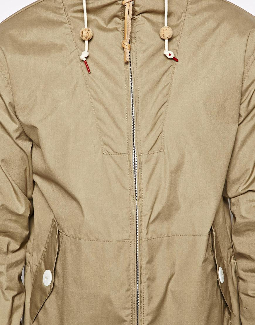 Penfield Shower Proof Gibson Jacket In Natural For Men Lyst