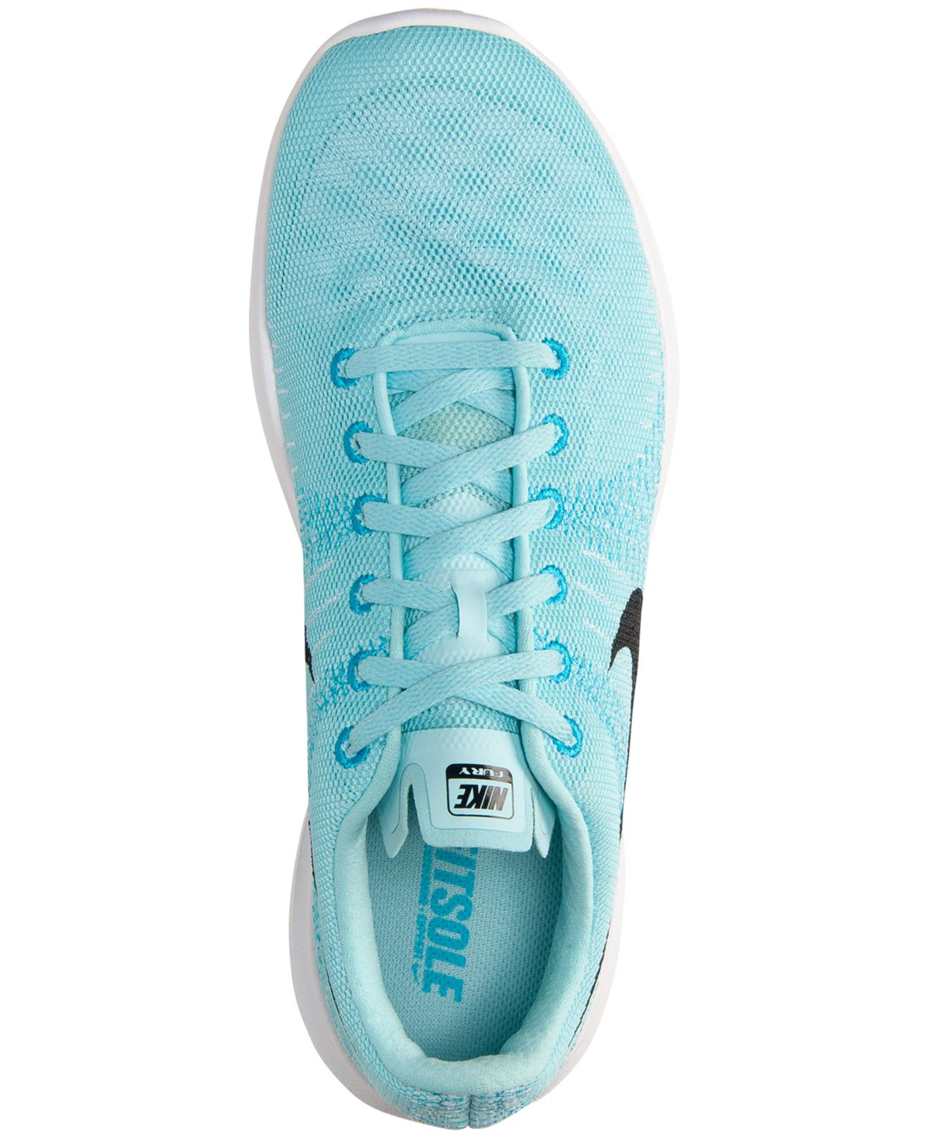 04b90d9ab200 ... hot lyst nike womens flex fury running sneakers from finish line in blue  bef94 30b8b