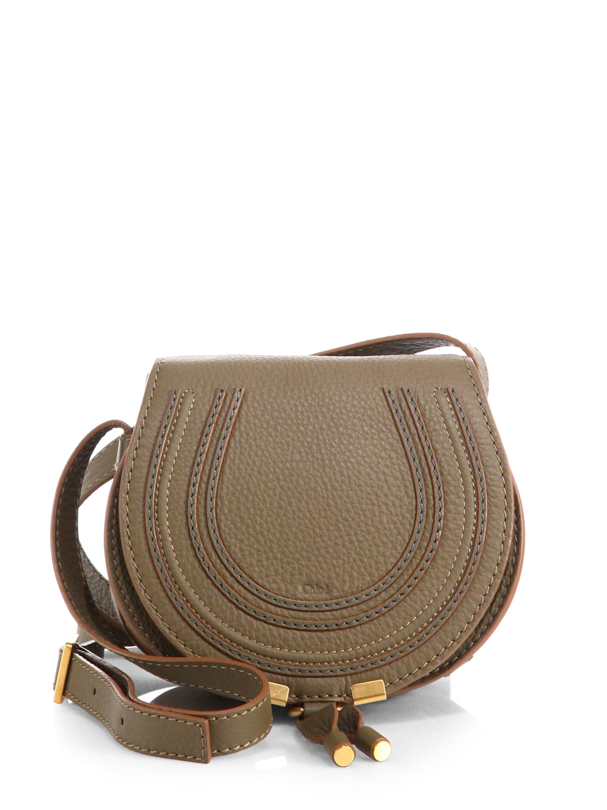 handbags see by chloe - chloe small marcie saddle crossbody, replica chloe bag