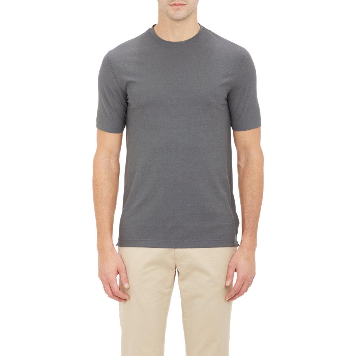 ZANONE T-shirt à rayures p8BZdfmv1