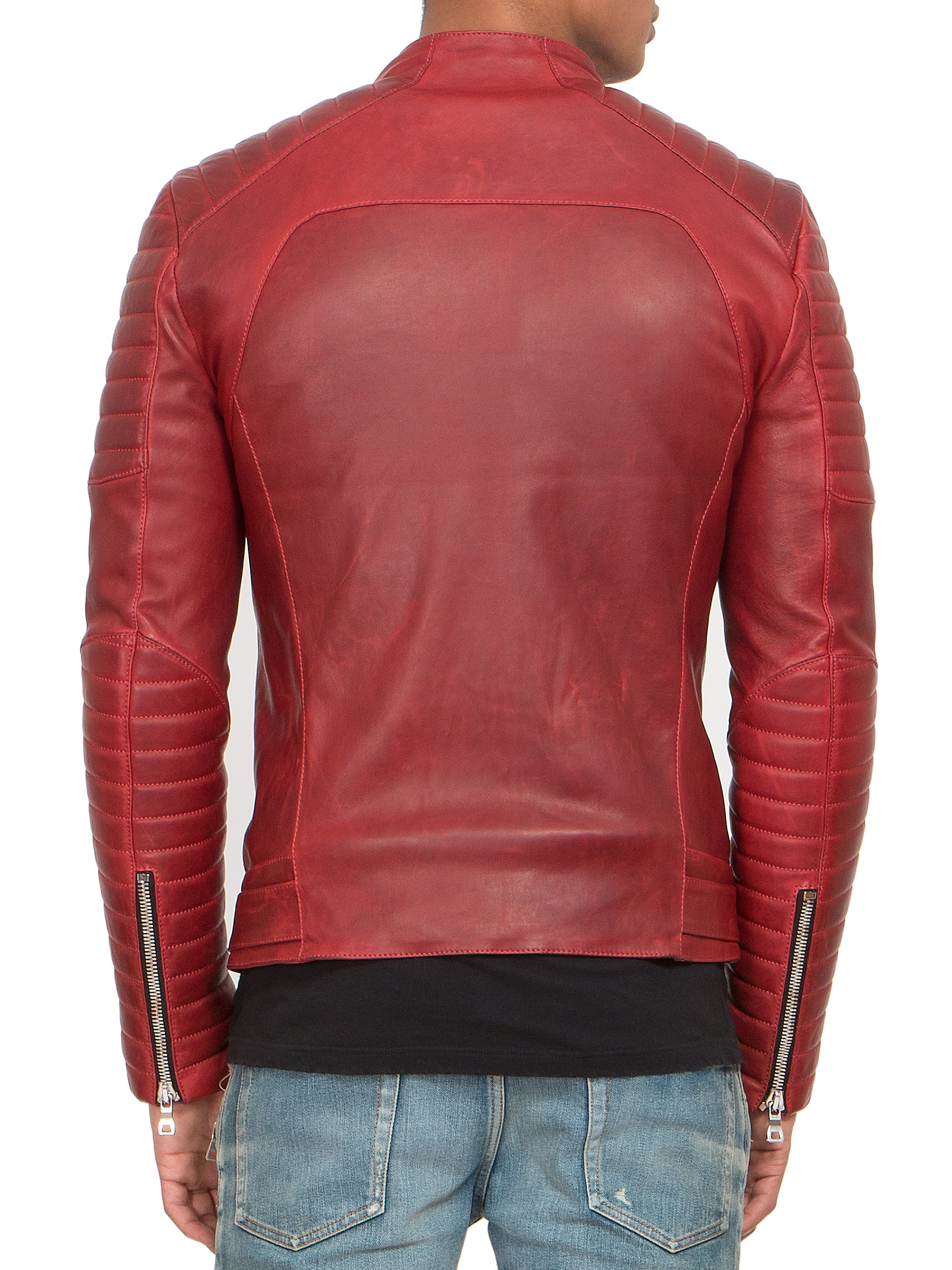 Jacket shell Balmain Quilted Biker Balmain Quilted Biker Jacket shell addZq7vnr