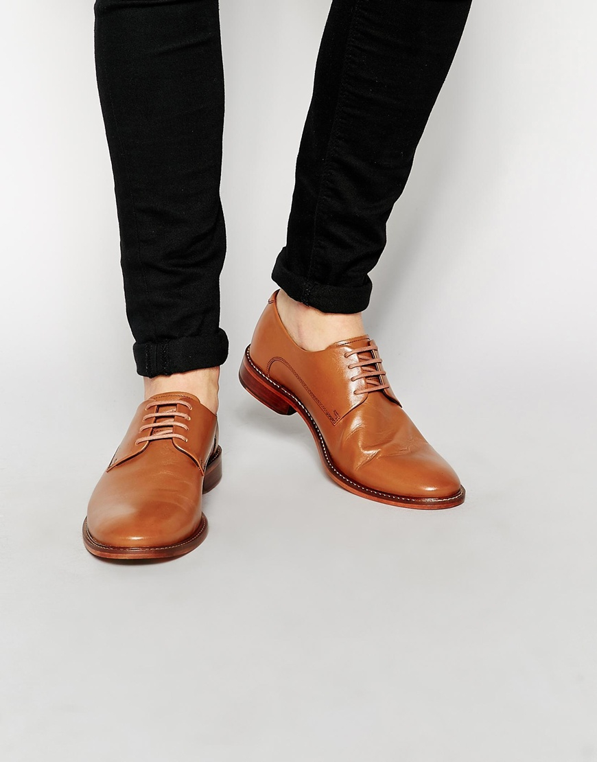 044a669add0855 Lyst - Ted Baker Irron Derby Shoes in Brown for Men