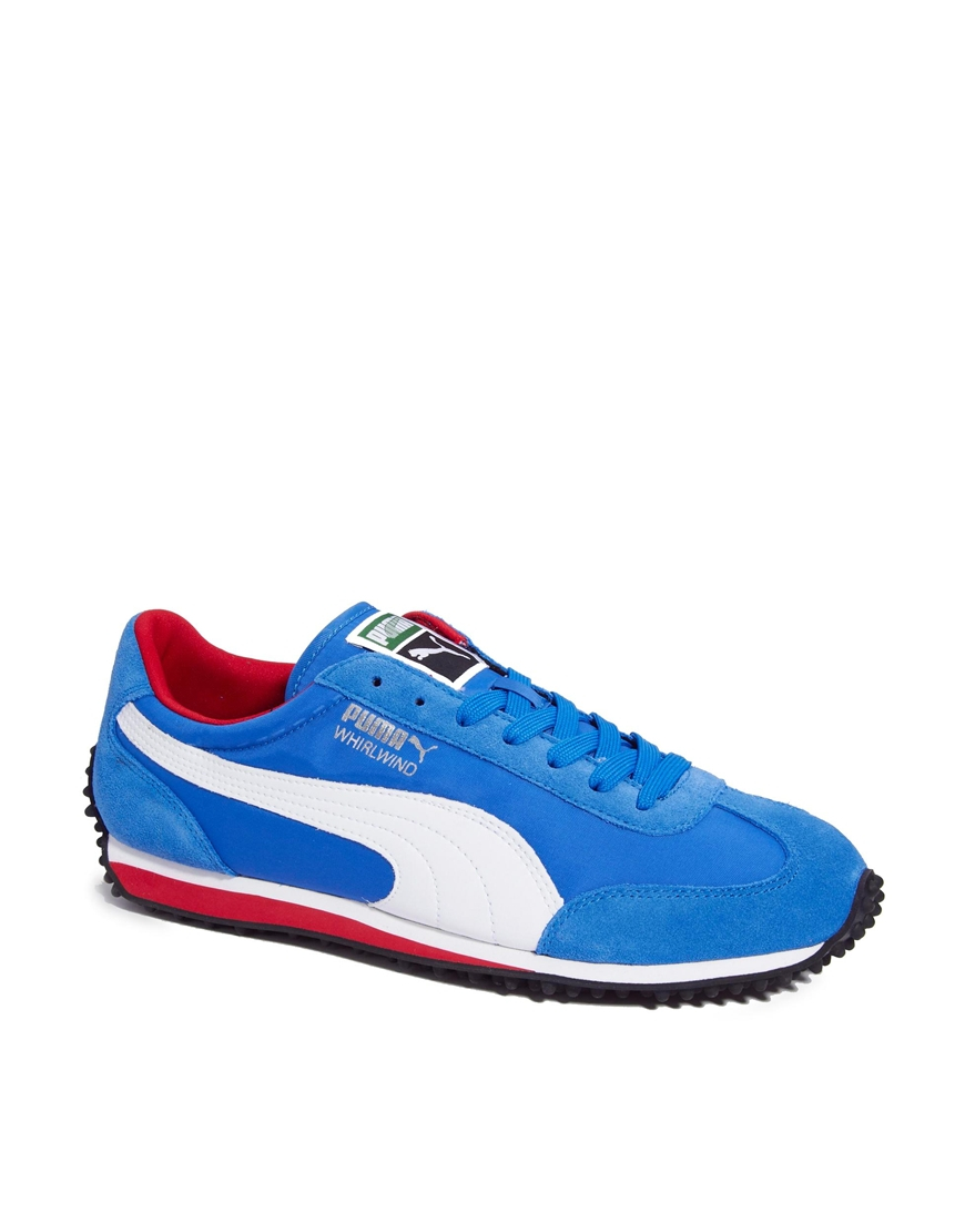 b74ae4840b4988 Lyst - PUMA Whirlwind Classic Trainers in Blue for Men