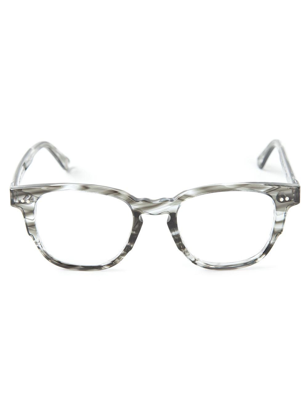 Lyst Ahlem Tortoiseshell Glasses In Gray