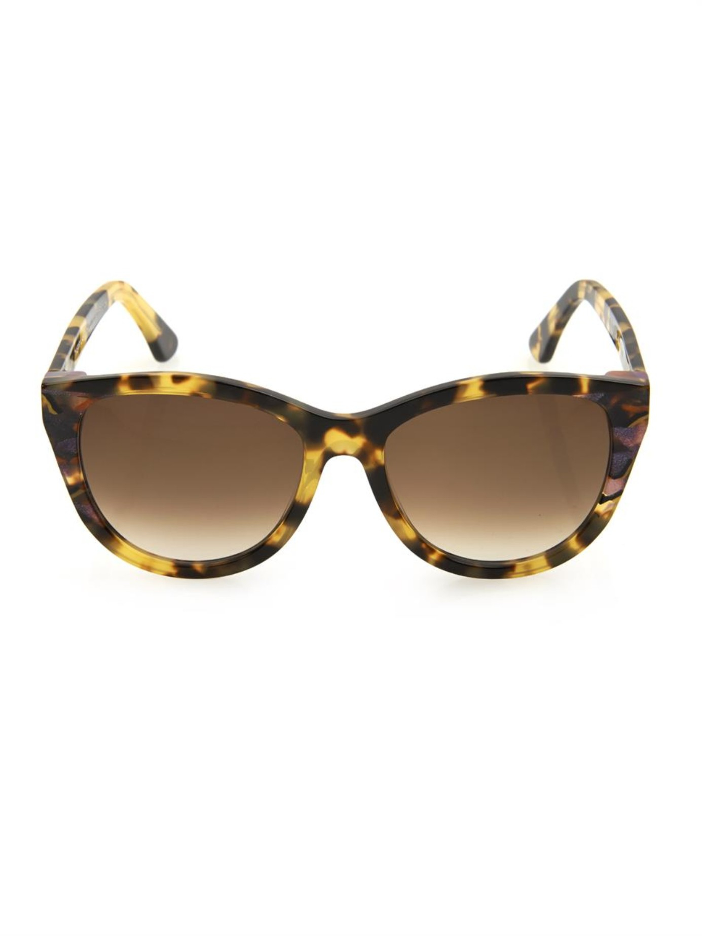 Thierry Lasry Flattery Cat-Eye Sunglasses In Purple