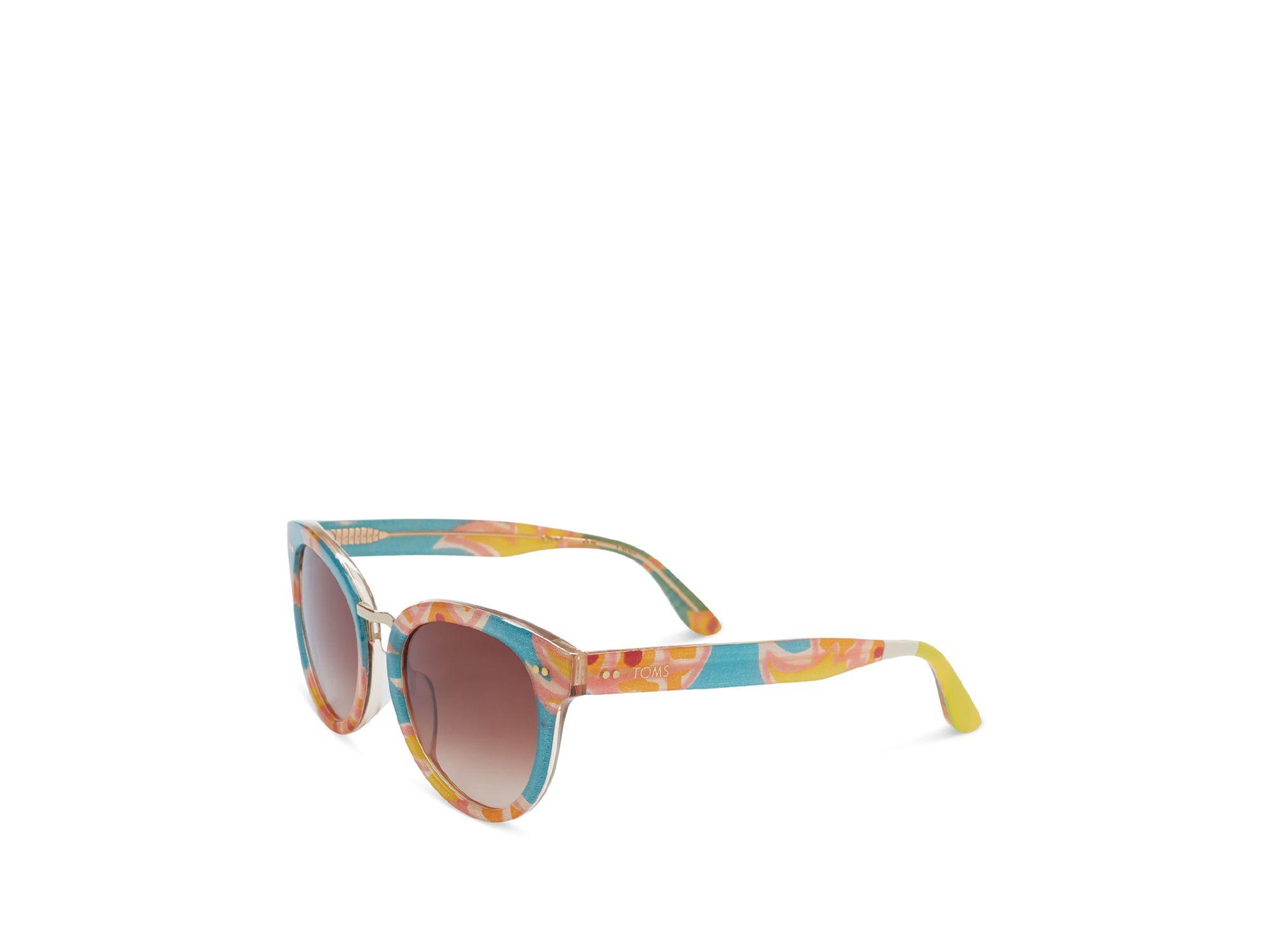 Toms Yvette Sunglasses in Brown | Lyst