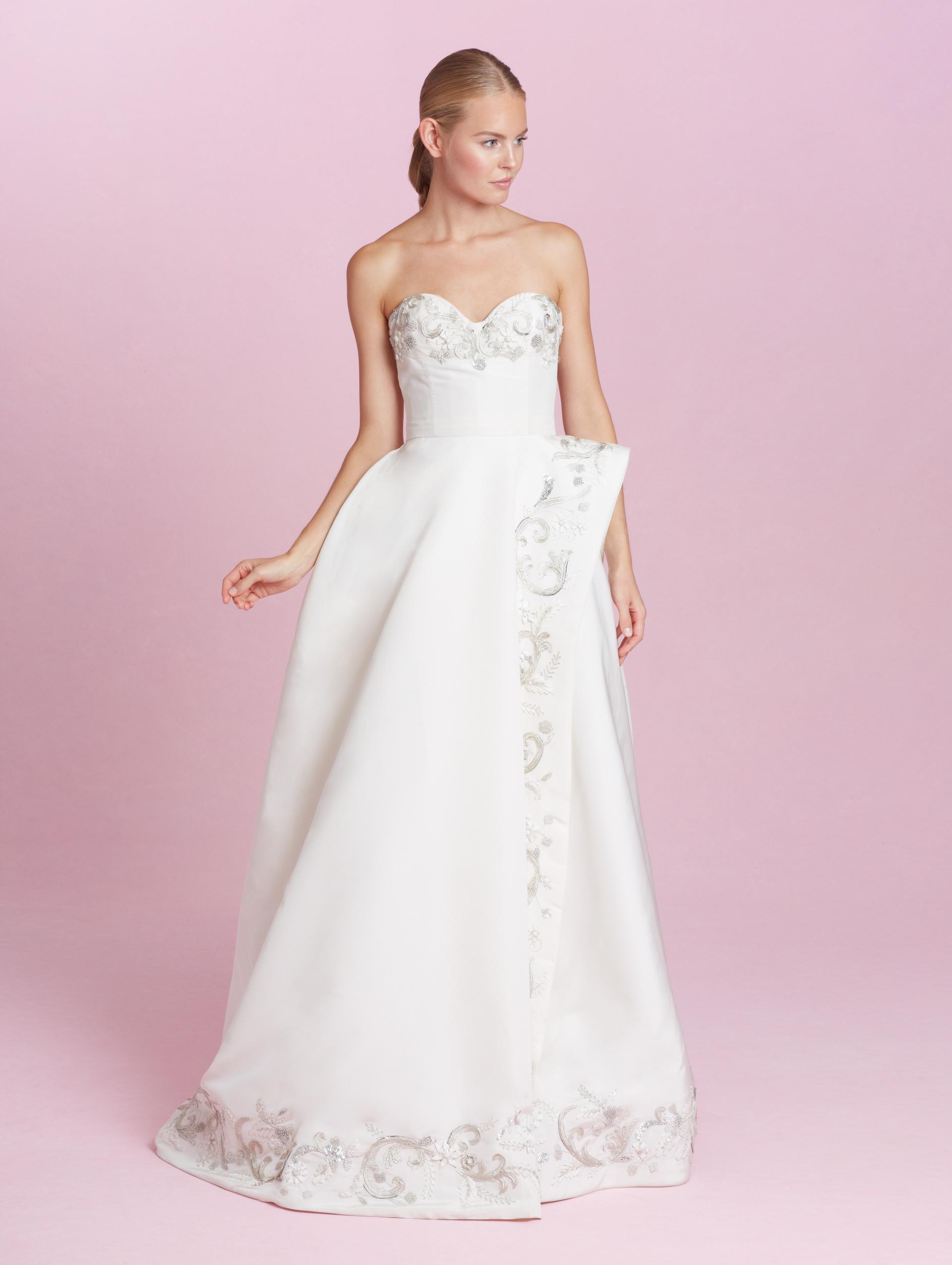 Atractivo Lorenzo Wedding Dress Embellecimiento - Colección de ...