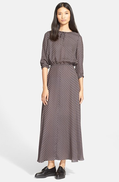 The great &-39-the Parlor&-39- Print Silk Maxi Dress - Lyst