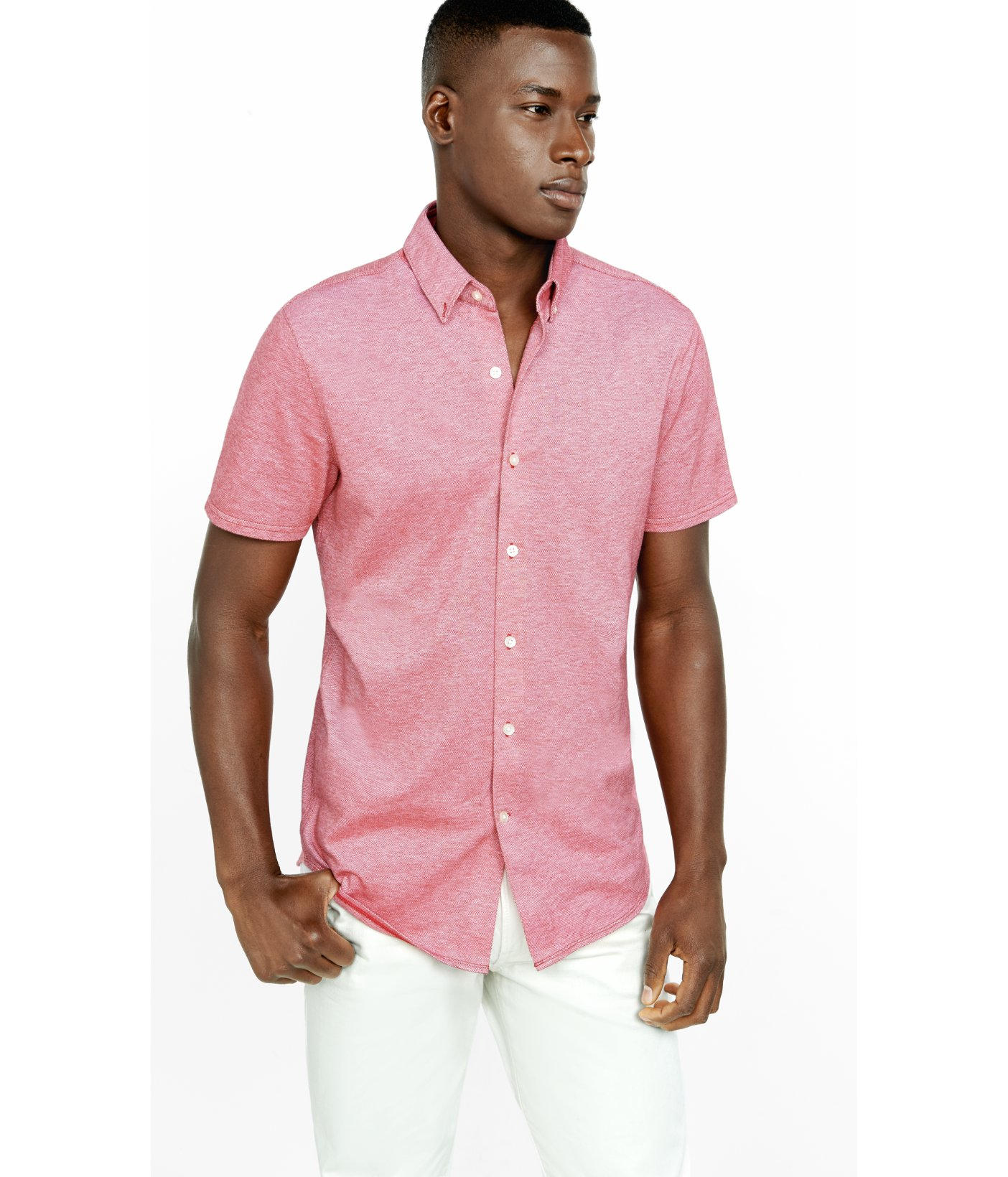 Button Down Collar Short Sleeve Shirts | Is Shirt