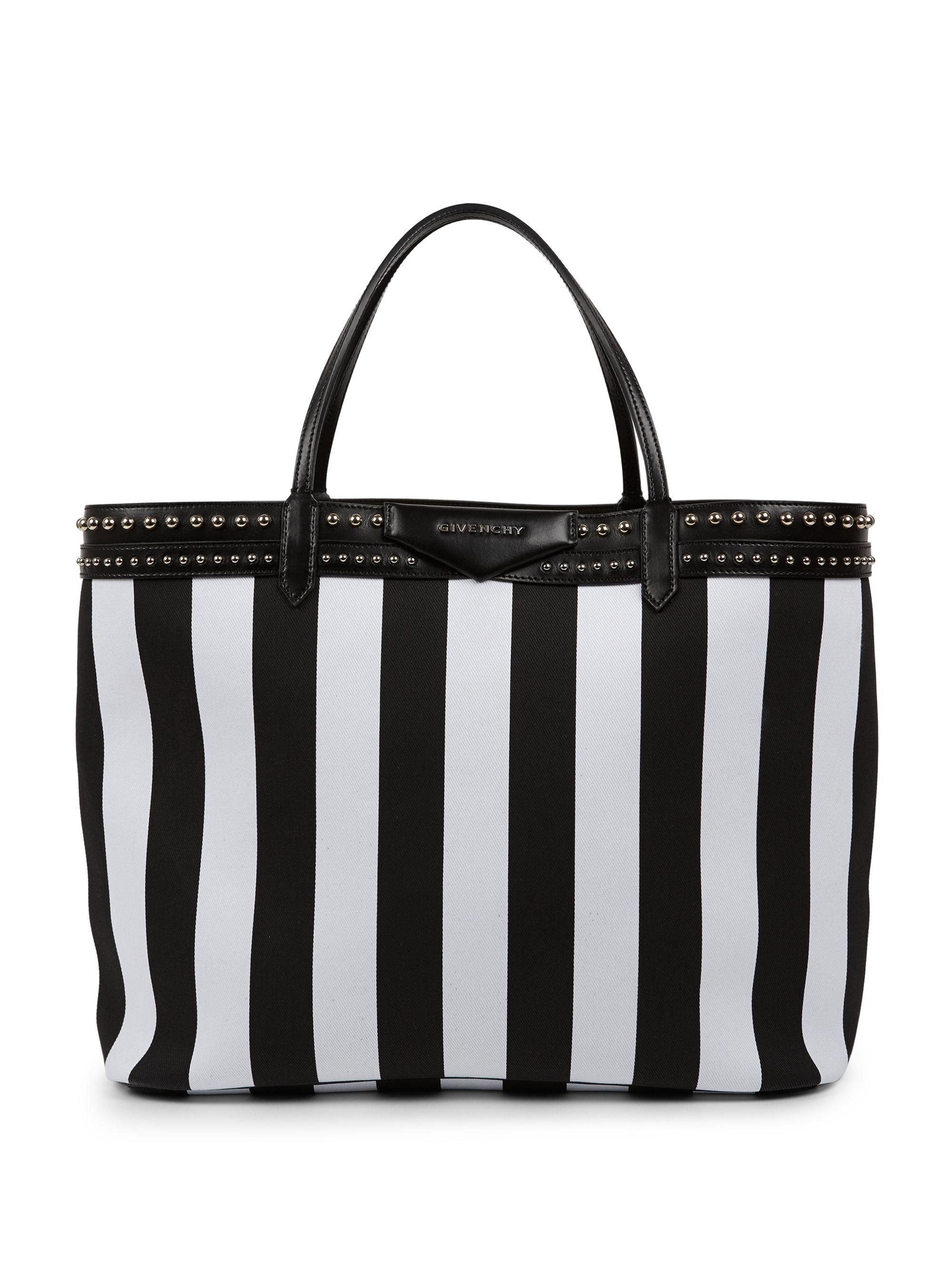 Lyst - Givenchy Antigona Coated Canvas Shopper Tote in Black 1e7e063b0e