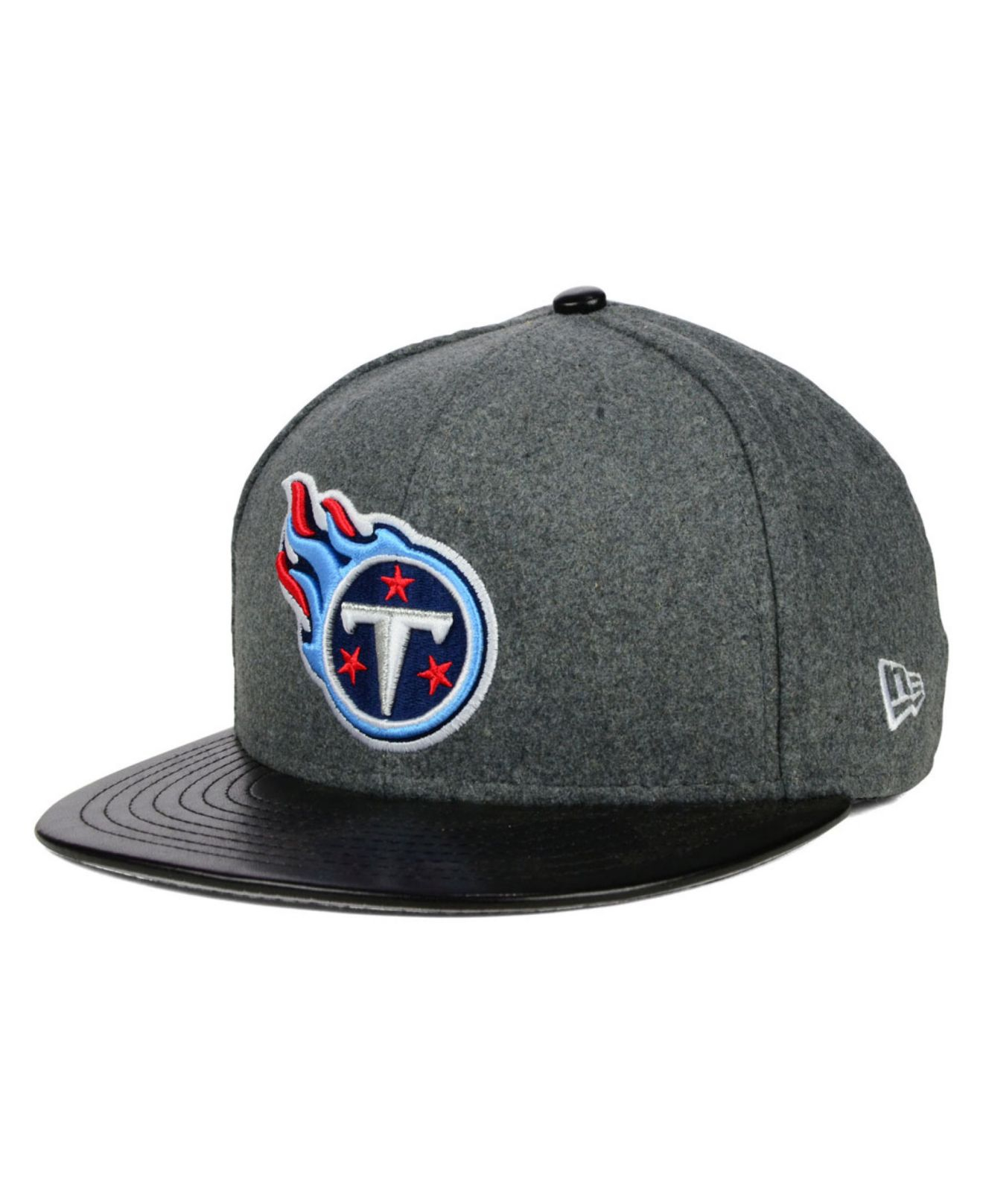watch b2650 c7b9a ebay tennessee titans new era 2018 nfl draft official on stage 59fifty  fitted hat c0b46 c72df  switzerland lyst ktz tennessee titans leather  melton 59fifty ...