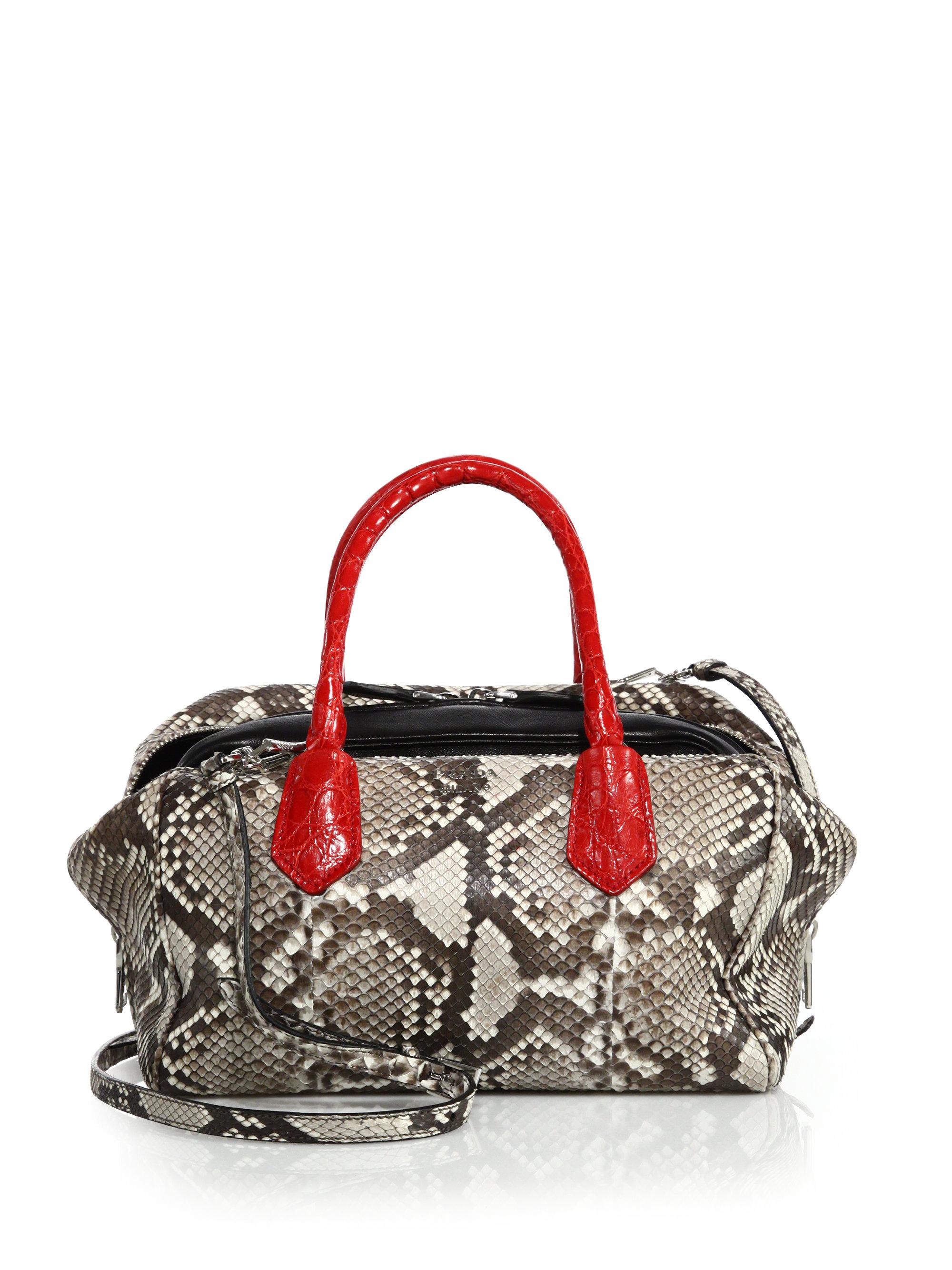 a0b41a0d094881 ... sweden lyst prada python crocodile inside bag in red d6a7c b0e09