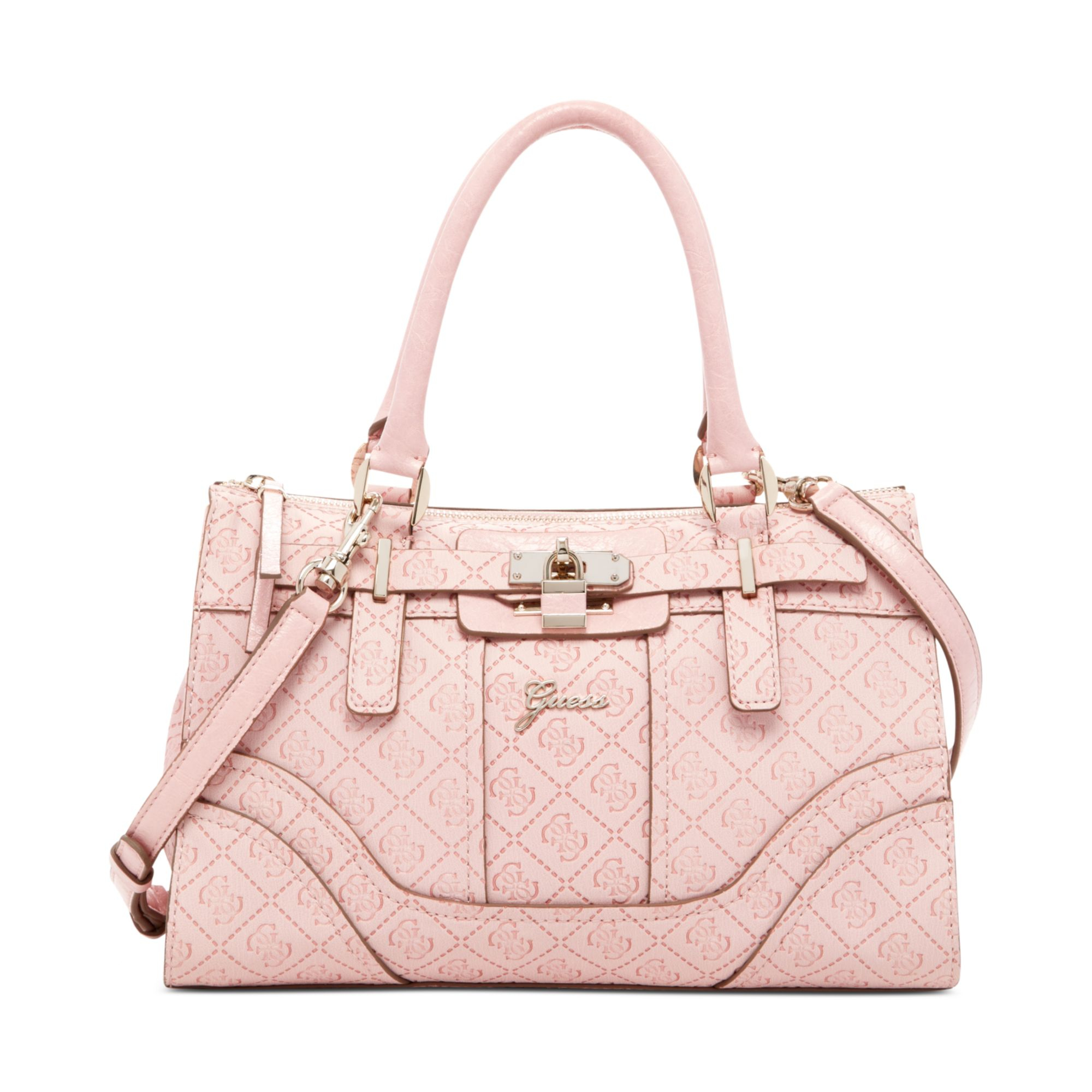 Pink Guess Purse With Bow Best Image Ccdbb