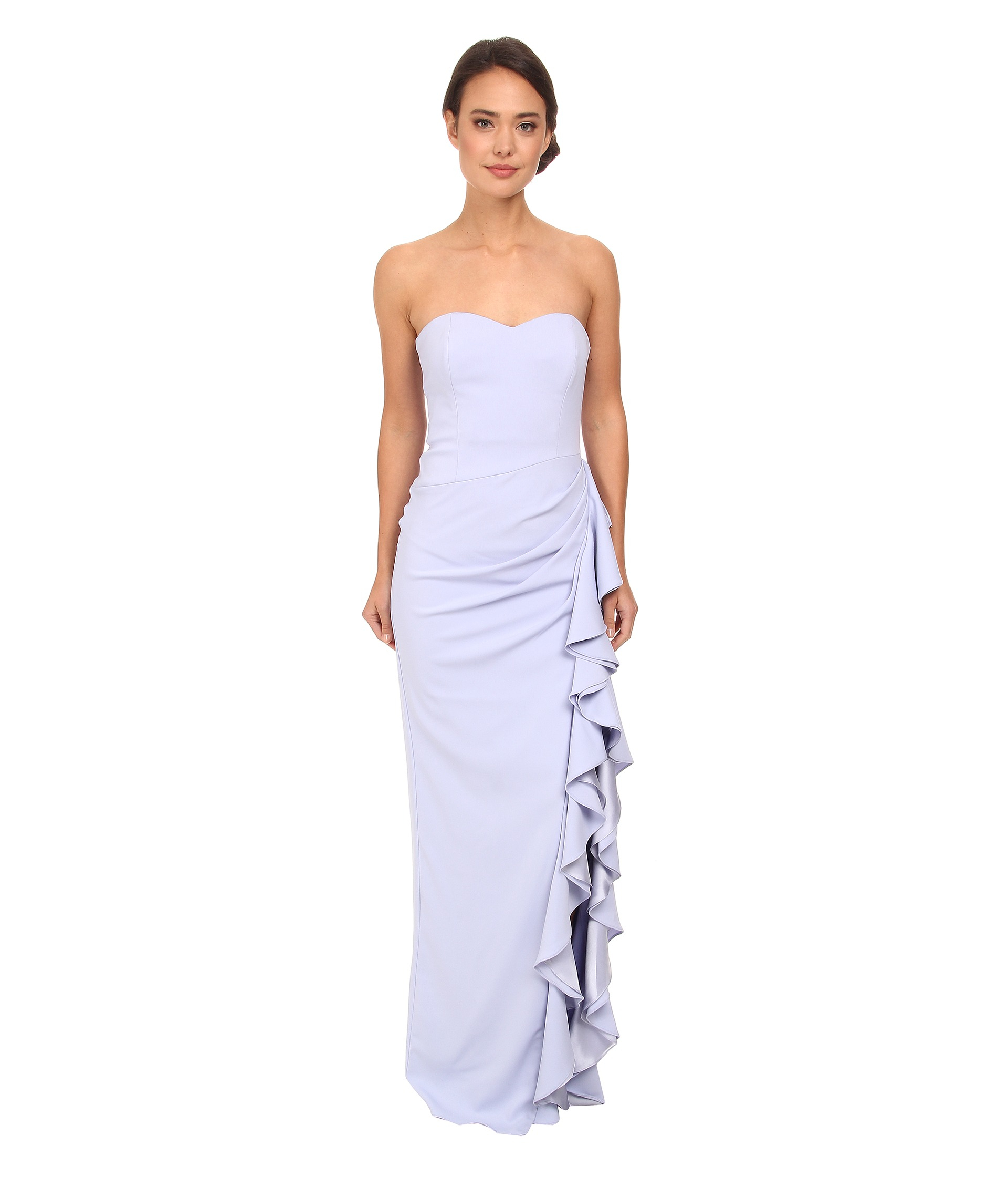 Badgley Mischka Lilac Gown – fashion dresses
