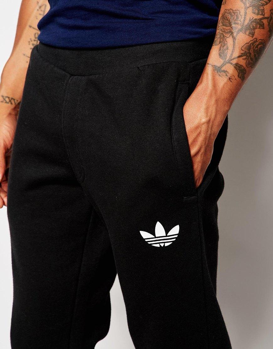 mens adidas originals skinny joggers