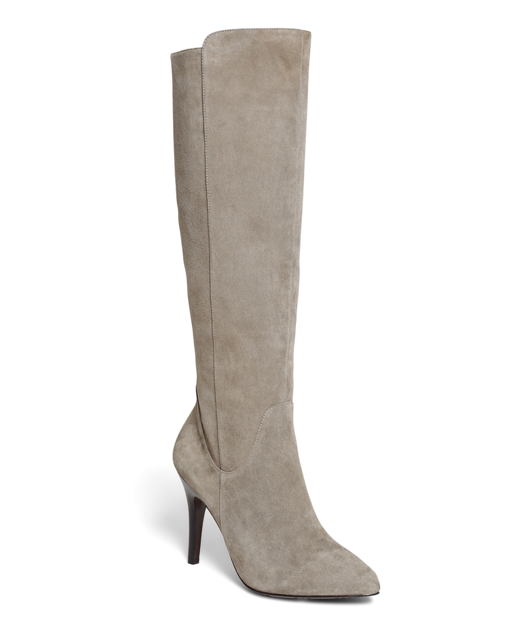 brothers suede boots in gray lyst