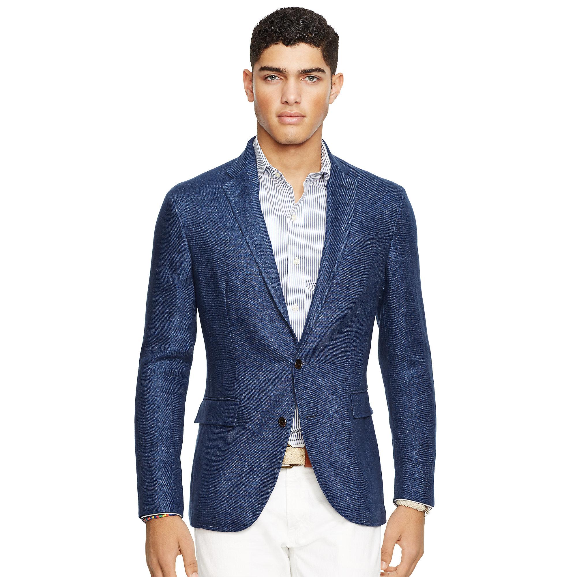 Lyst Polo Ralph Lauren Morgan Denim Sport Coat In Blue