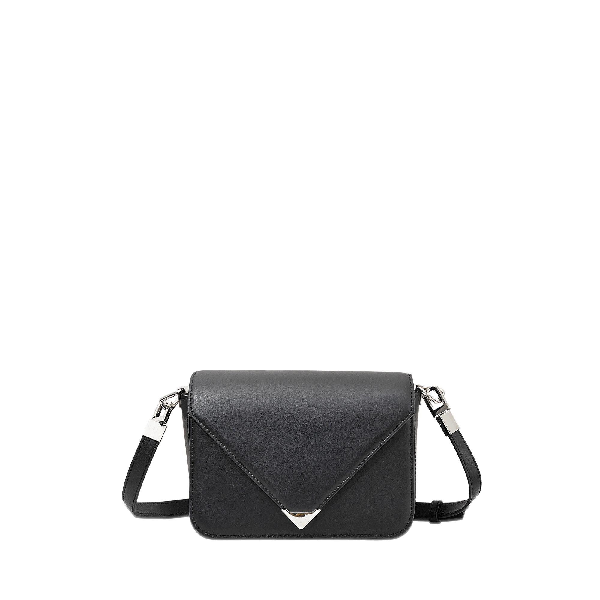 Alexander wang Prisma Envelope Small Sling Flap Bag in Black | Lyst
