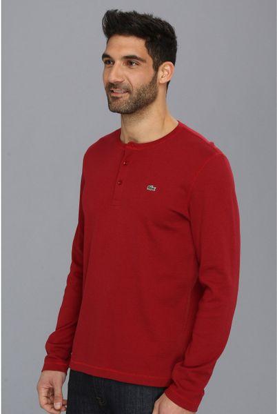 Mens Henley Long Sleeve Shirts