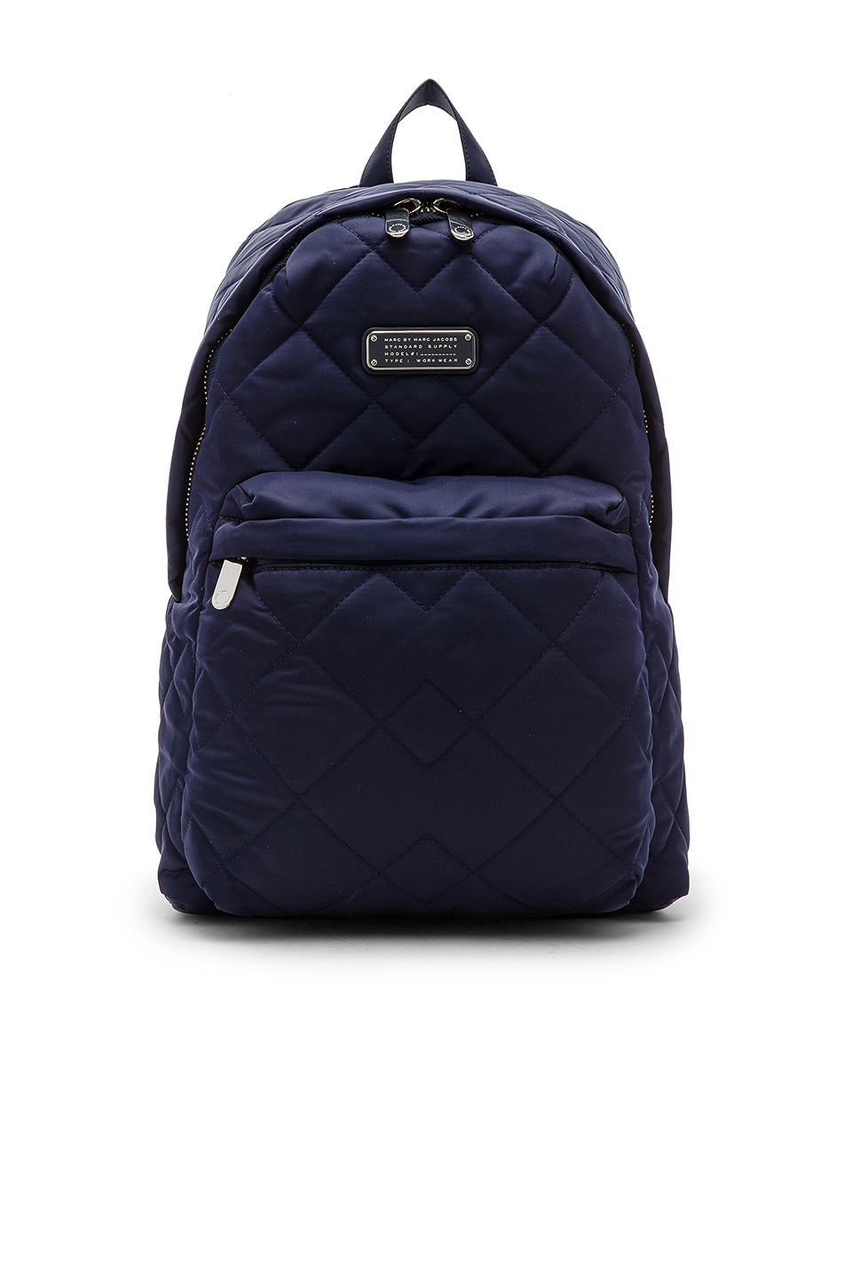 marc by marc jacobs crosby quilt nylon backpack in blue lyst. Black Bedroom Furniture Sets. Home Design Ideas