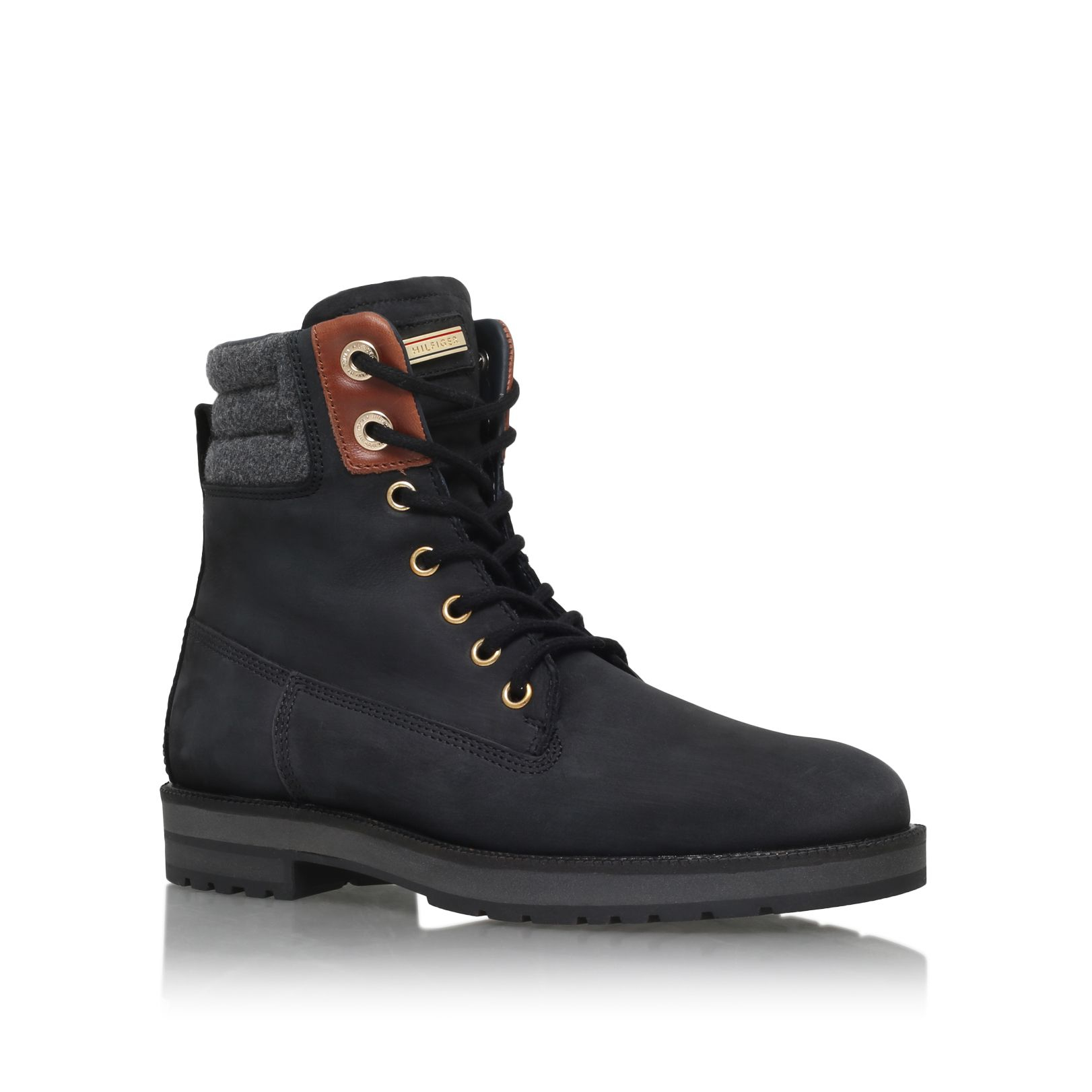 Tommy Hilfiger lace up boots sale pay with paypal mxMrS12qt