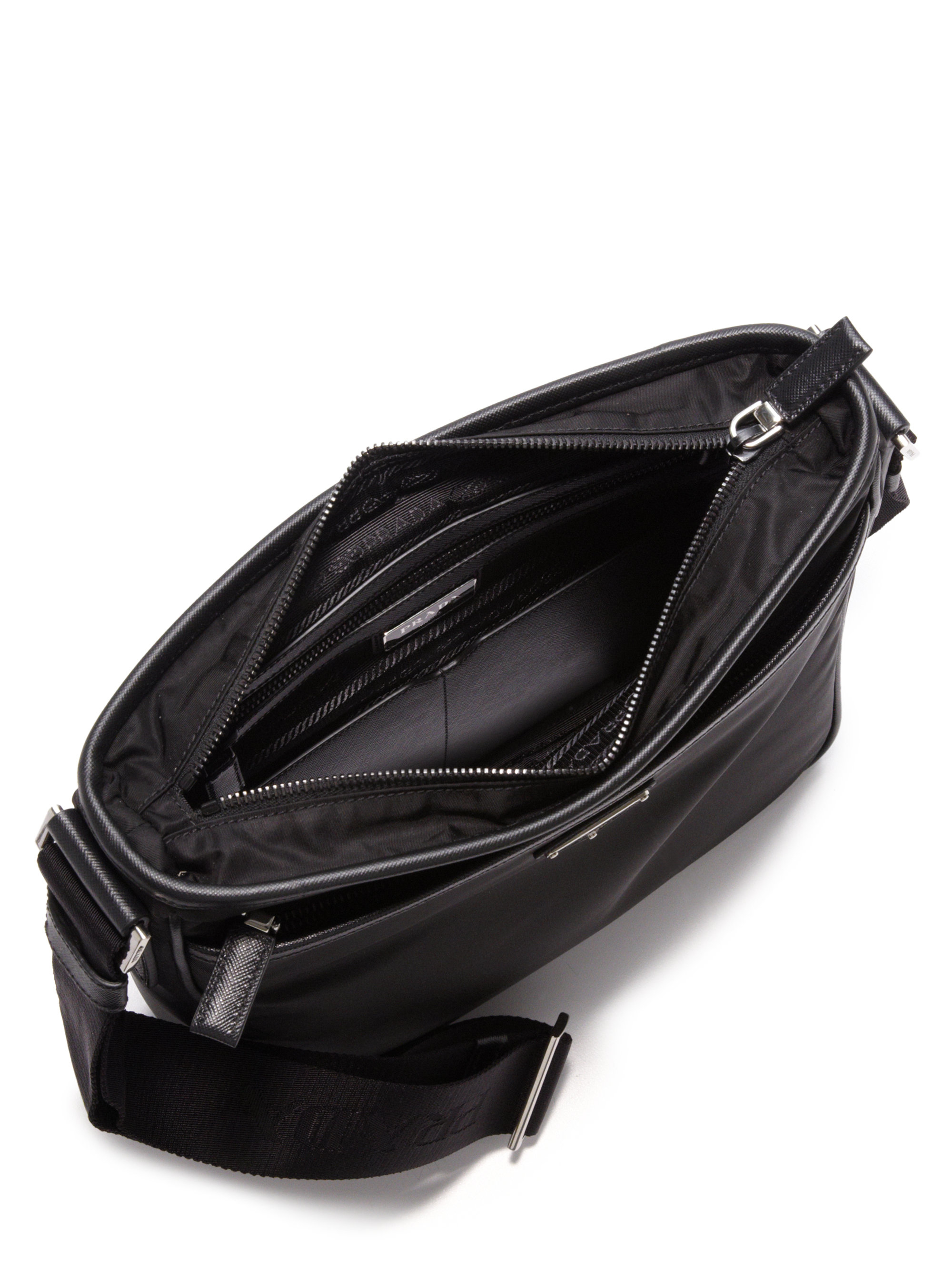 prada purse replica - Prada Nylon Crossbody Bag in Black for Men | Lyst