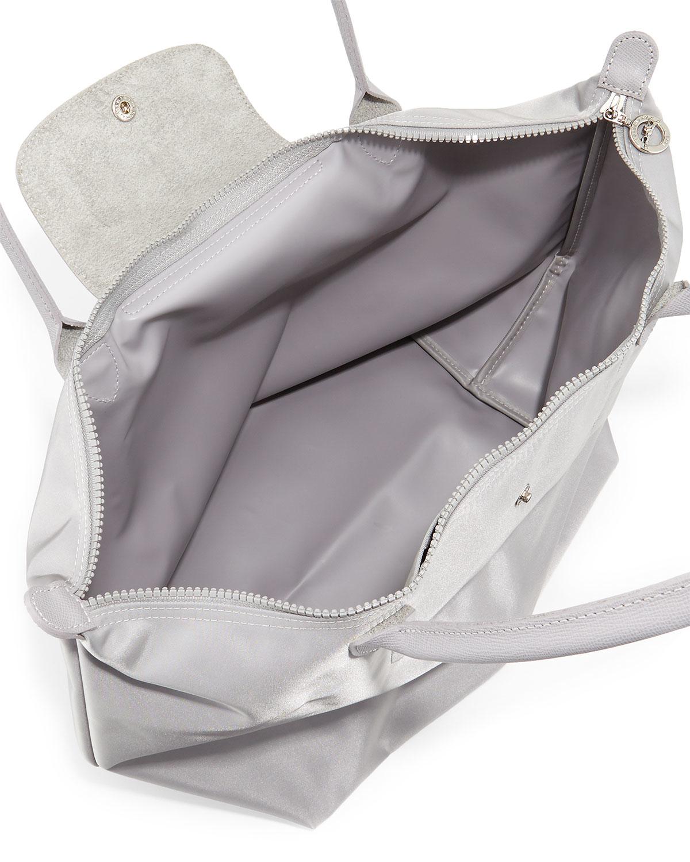 ... Lyst - Longchamp Le Pliage Neo Large Shoulder Tote Bag in Gr new  concept de3a2 06fb0 ... bf20377df3