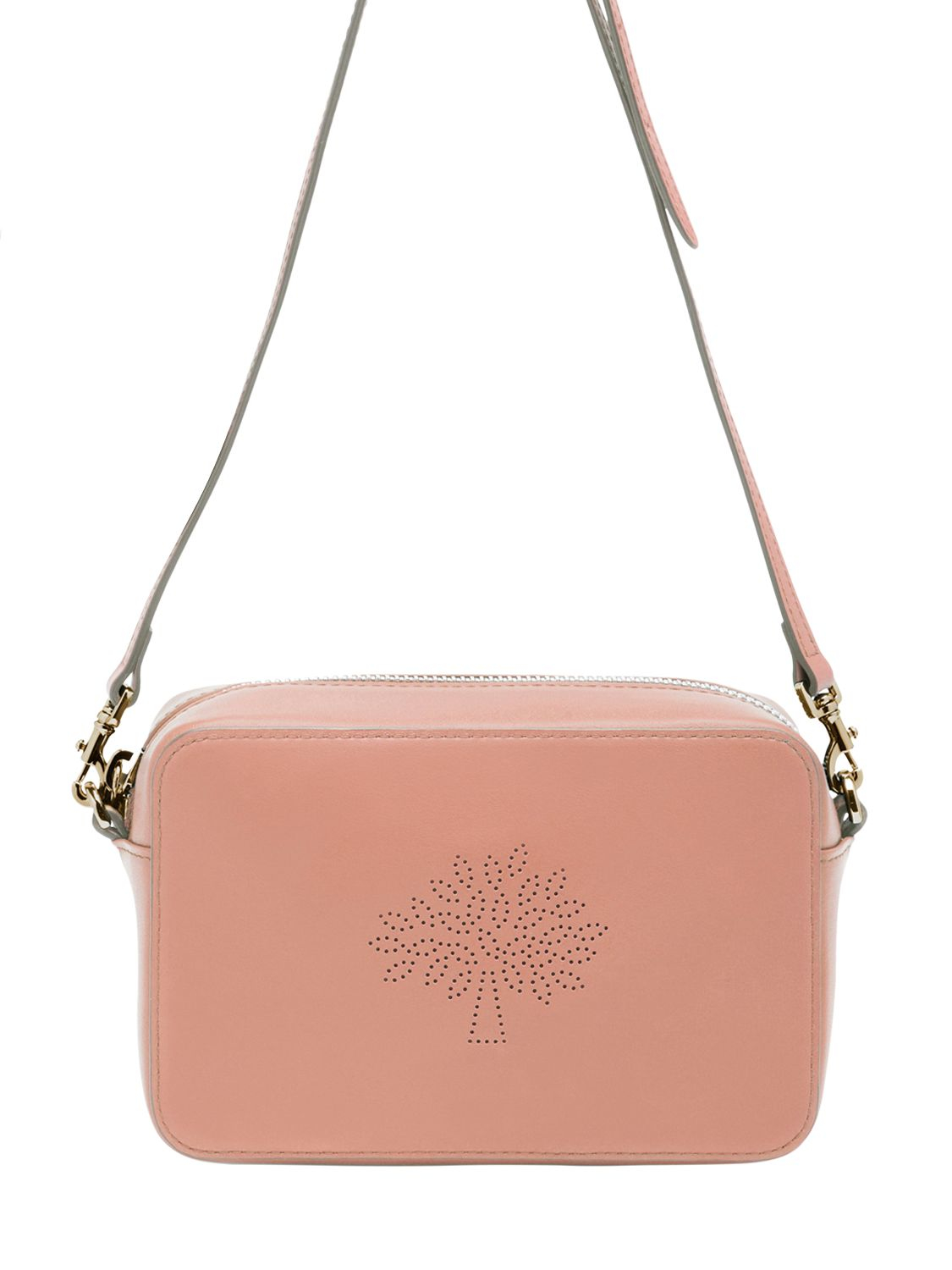 new style womens bags women mulberry 2a030 7390b  promo code for lyst  mulberry blossom perforated nappa shoulder bag in pink fc306 b6c57 2c727424ca9e2