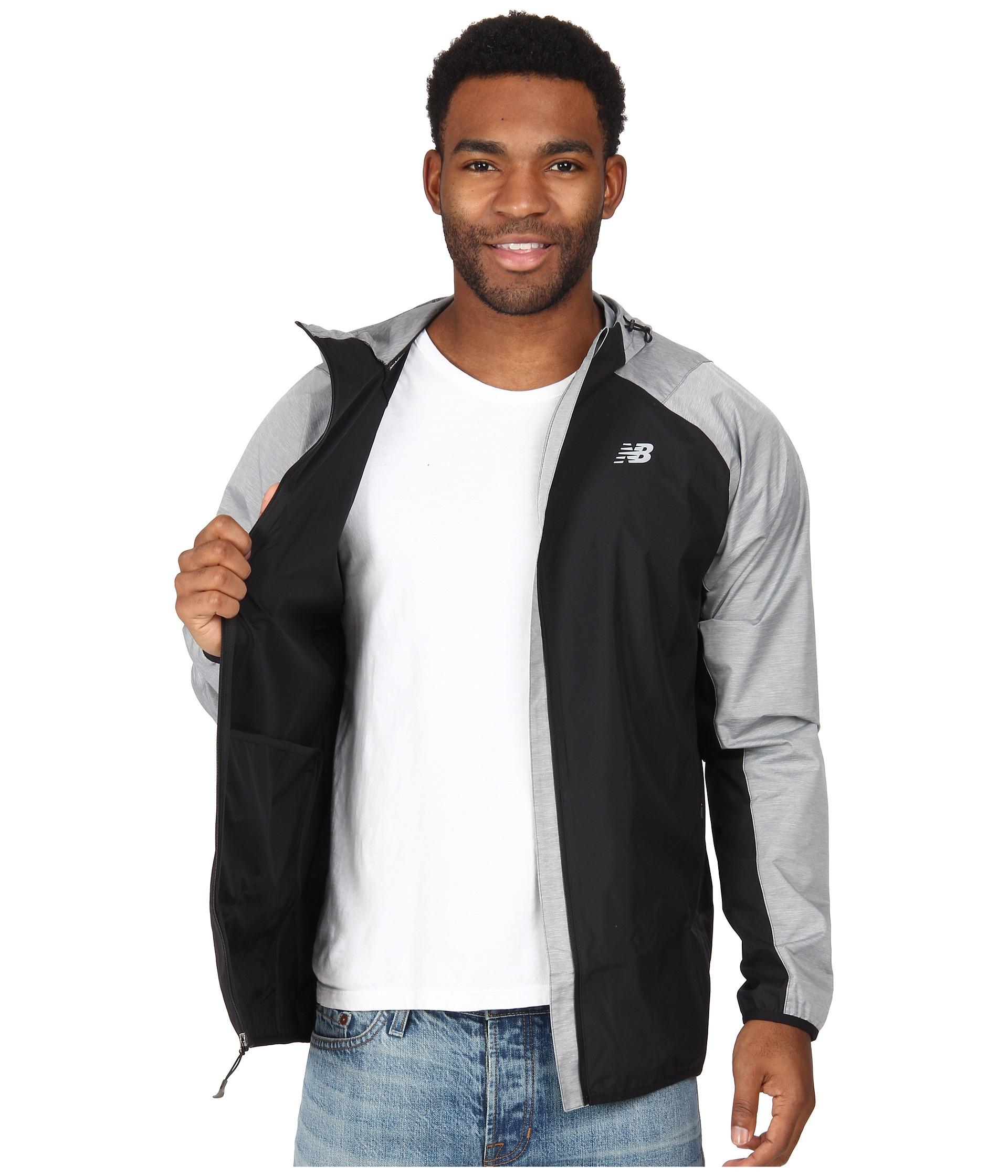 new balance black jacket