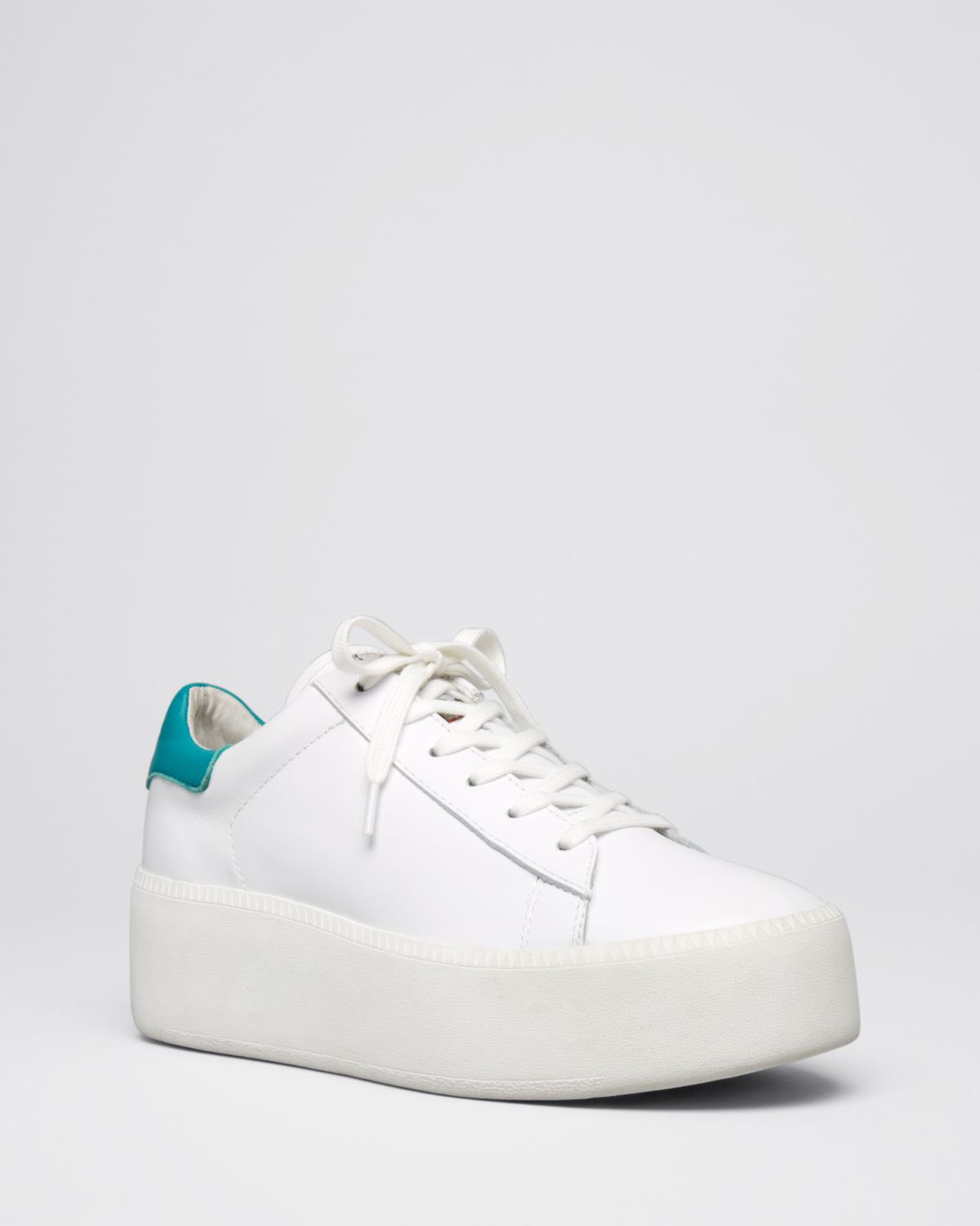 054517ae8 Ash Platform Lace Up Sneakers - Cult in White - Lyst