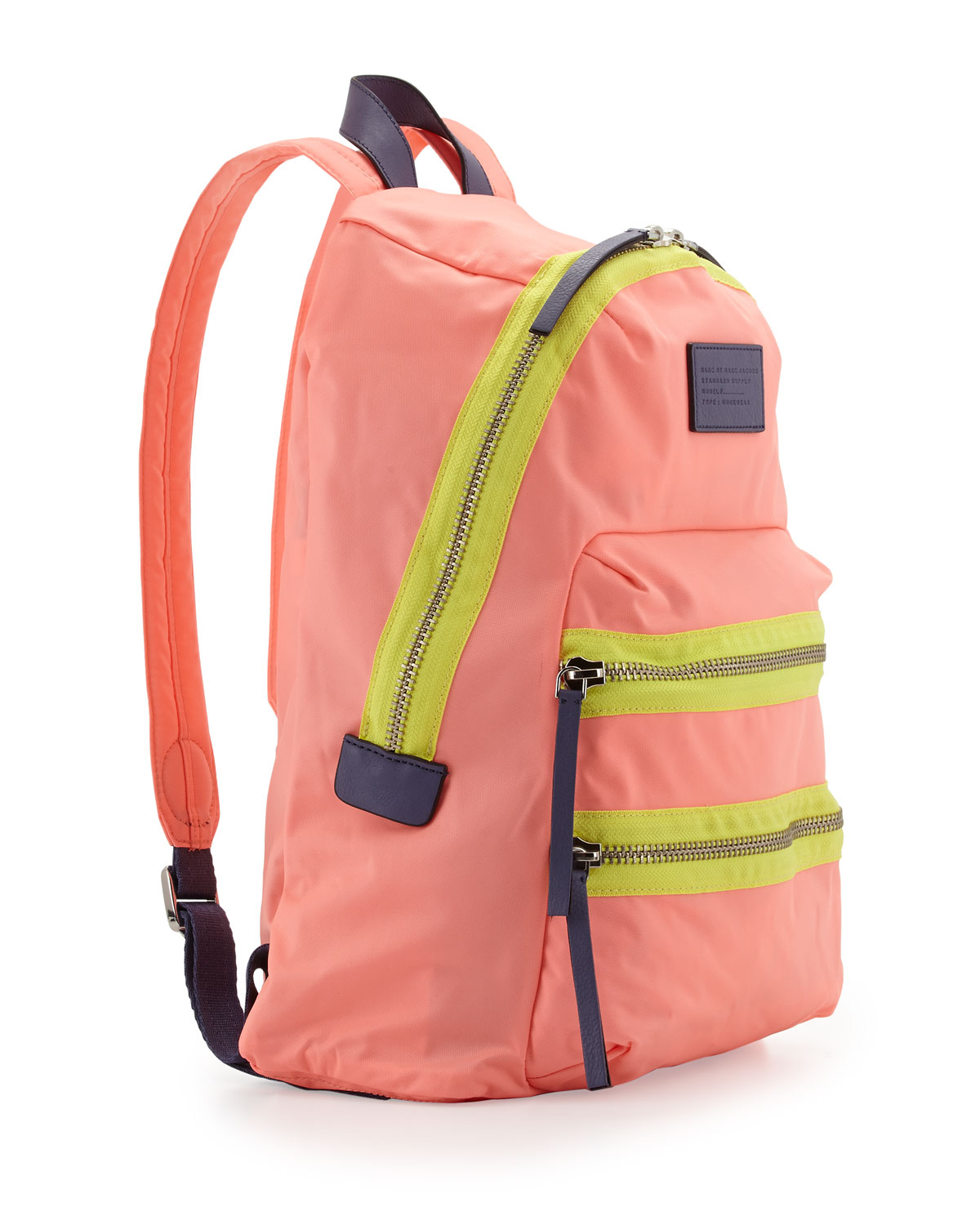 Marc By Marc Jacobs Domo Arigato Packrat Backpack Fluoro Coral in ... ce9c25199f631