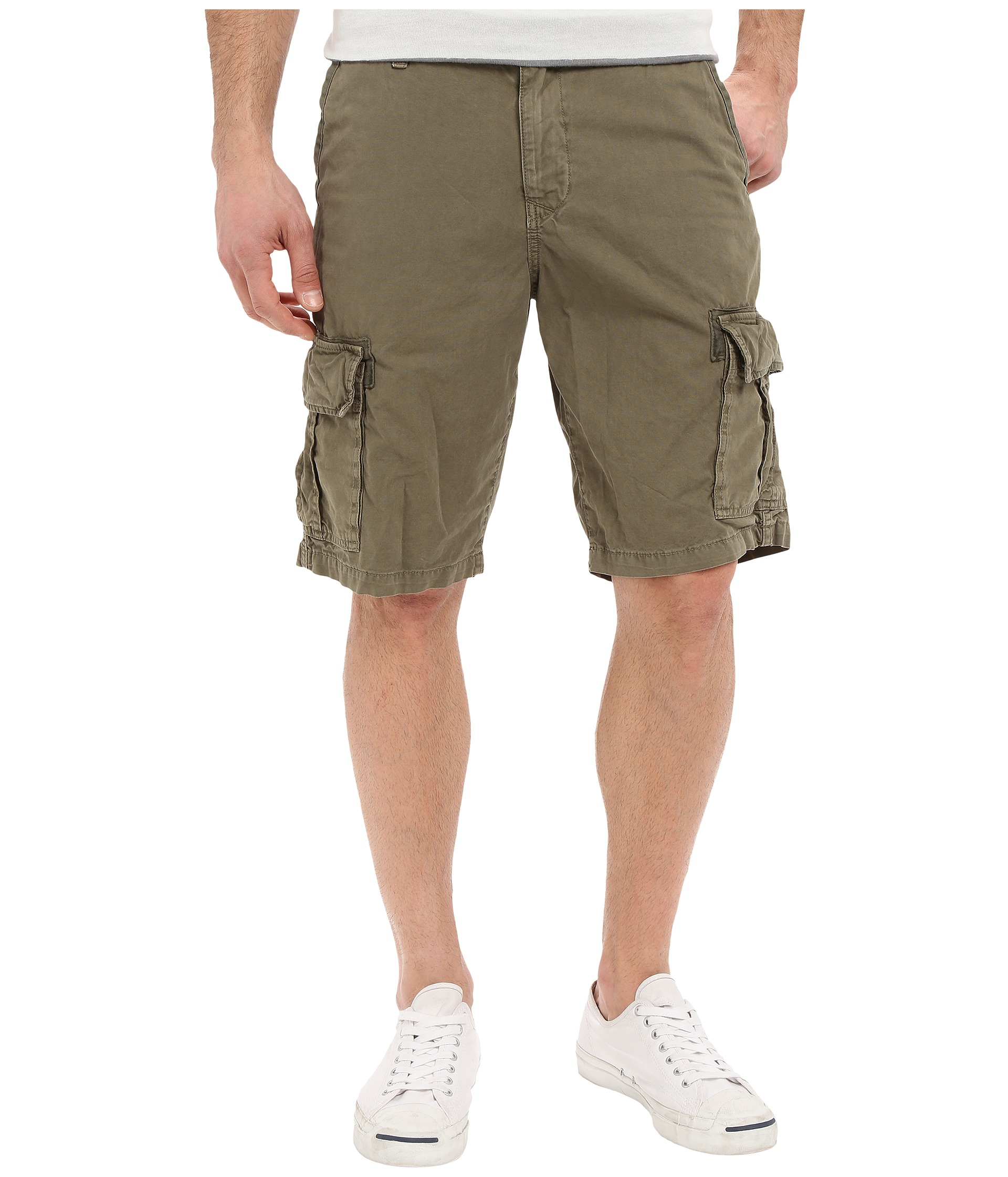 Lucky brand Utility Cargo Shorts in Green for Men   Lyst