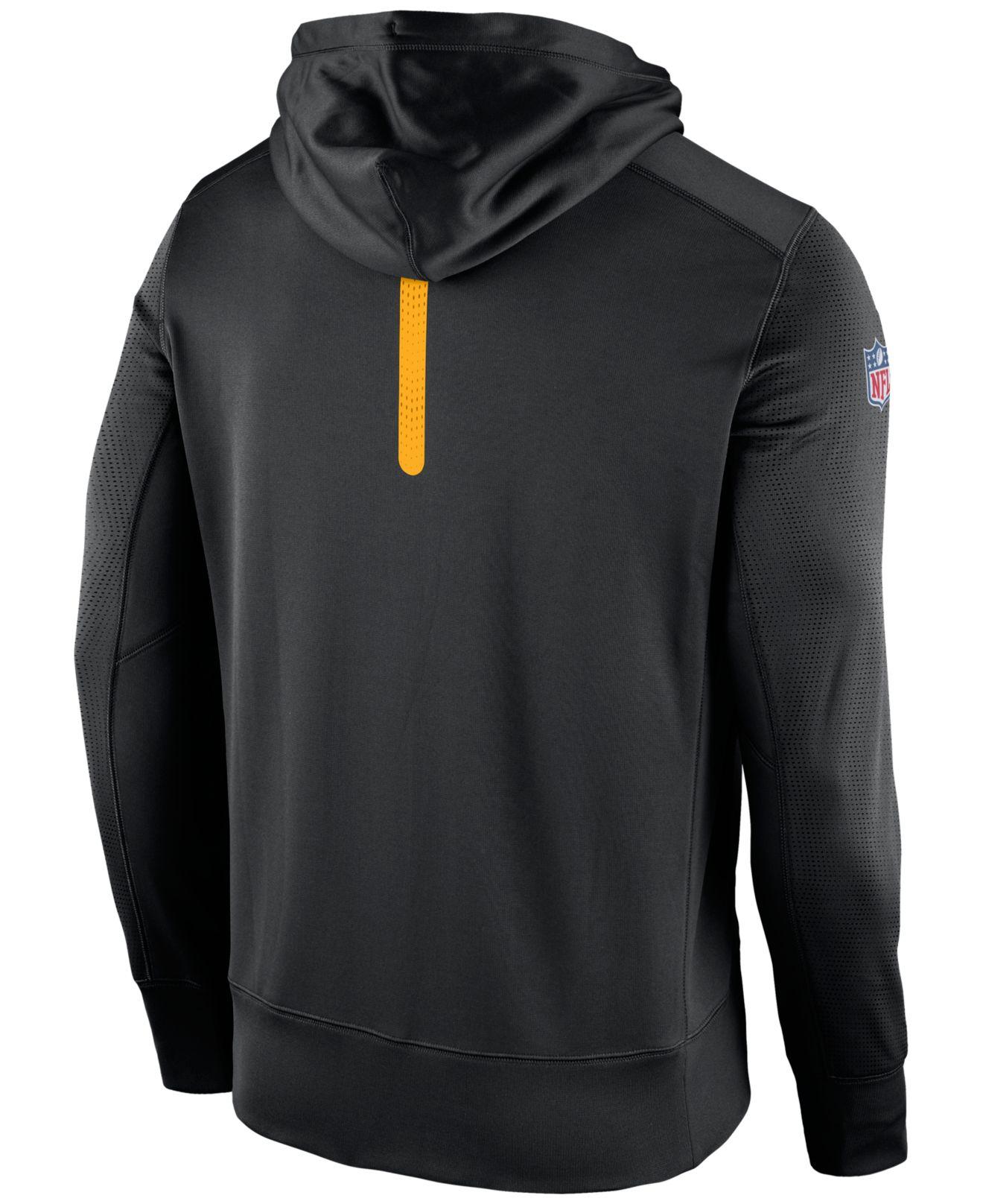 Lyst - Nike Men s Pittsburgh Steelers Sideline Ko Fleece Full-zip ... 52655e783